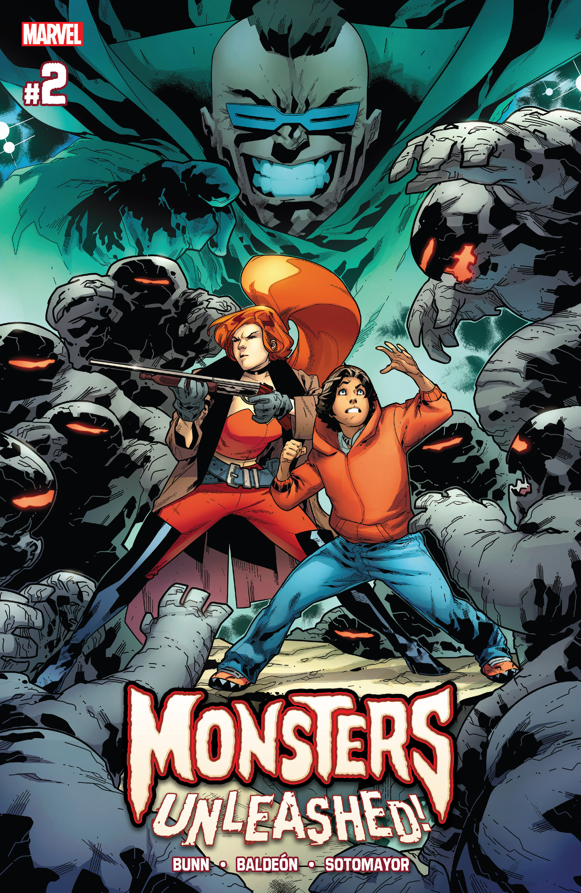 Read online Monsters Unleashed II comic -  Issue #2 - 1