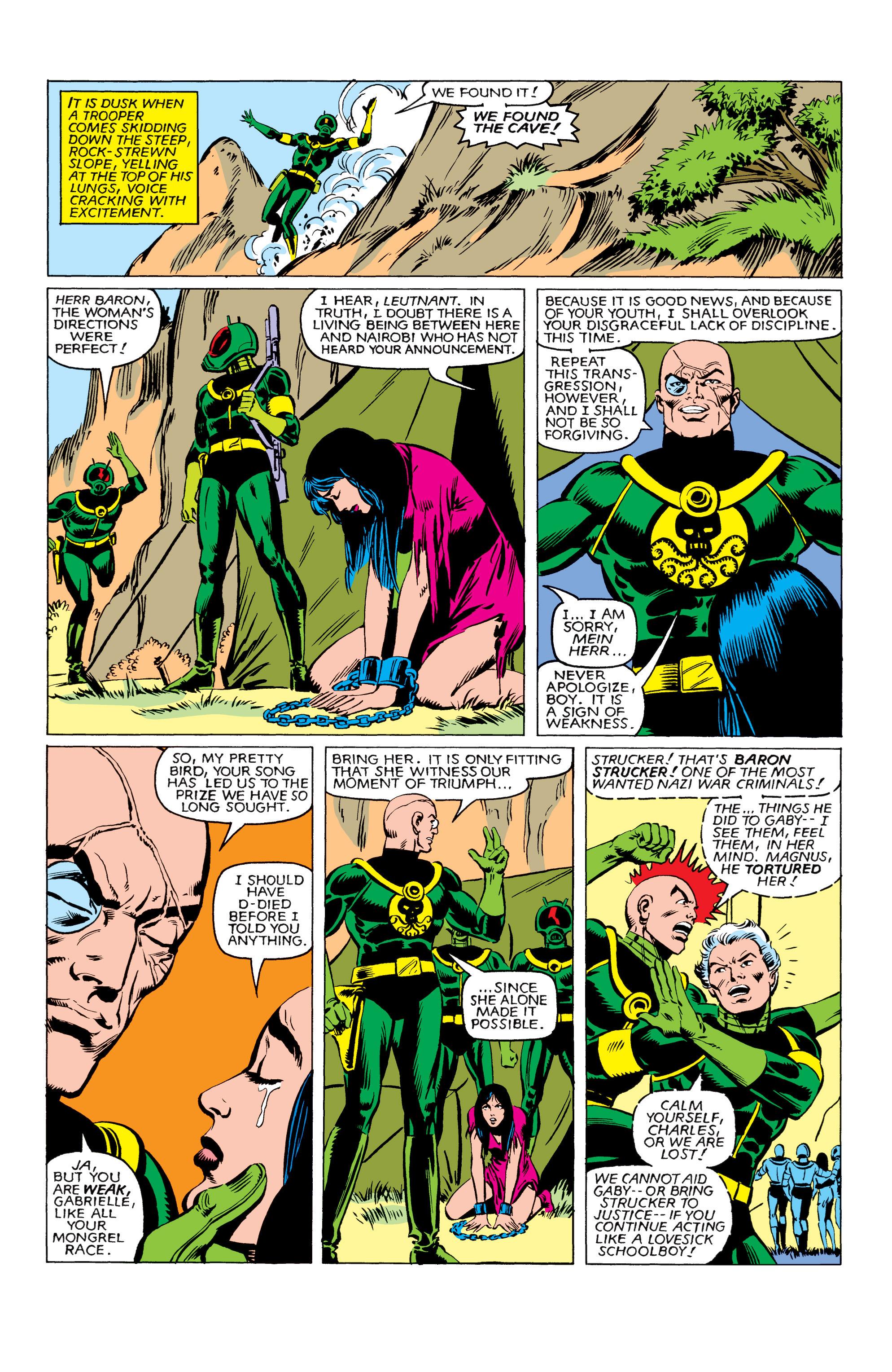 Read online Uncanny X-Men (1963) comic -  Issue #161 - 15