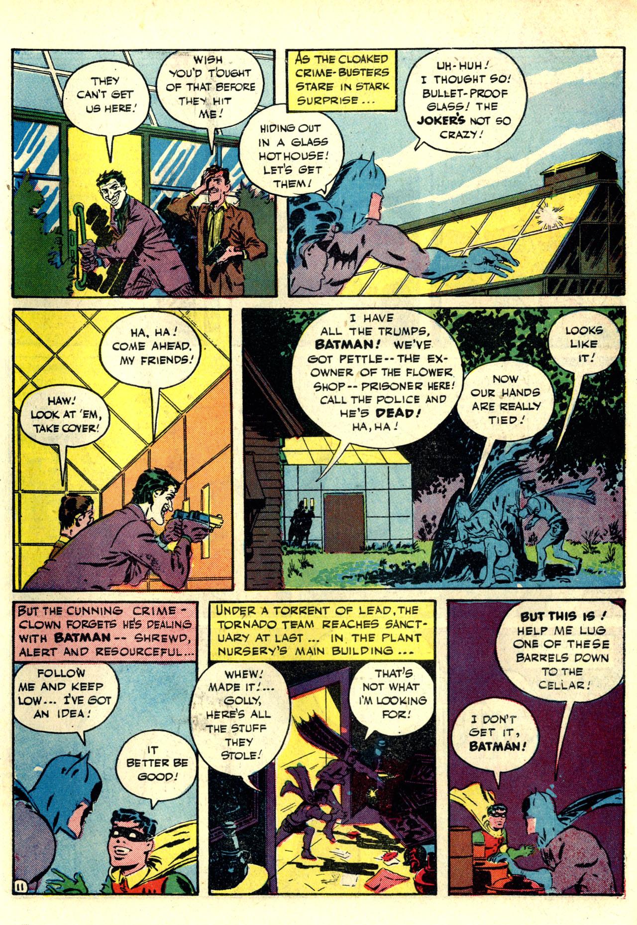 Read online Detective Comics (1937) comic -  Issue #76 - 13