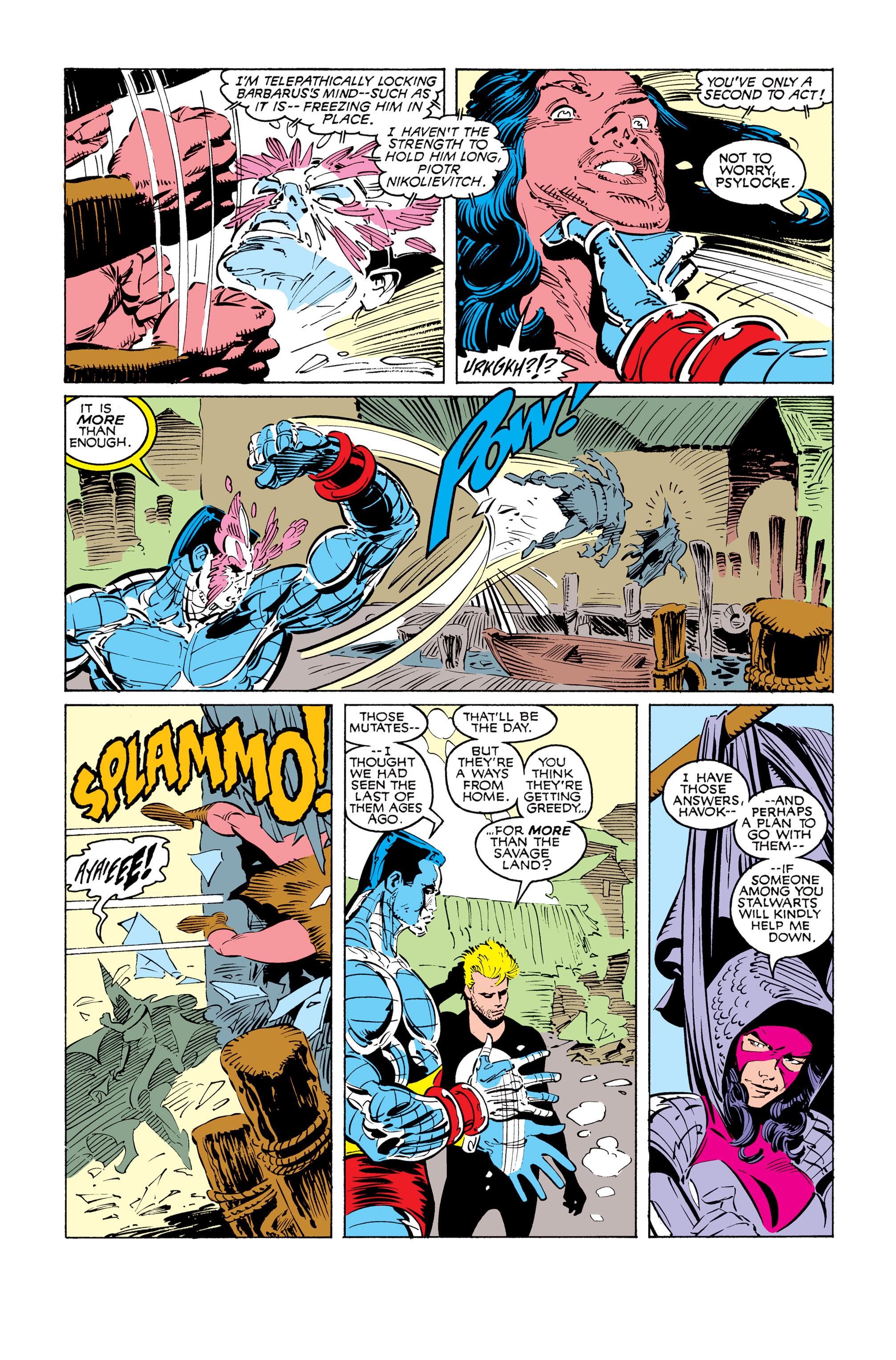 Read online Uncanny X-Men (1963) comic -  Issue #249 - 22