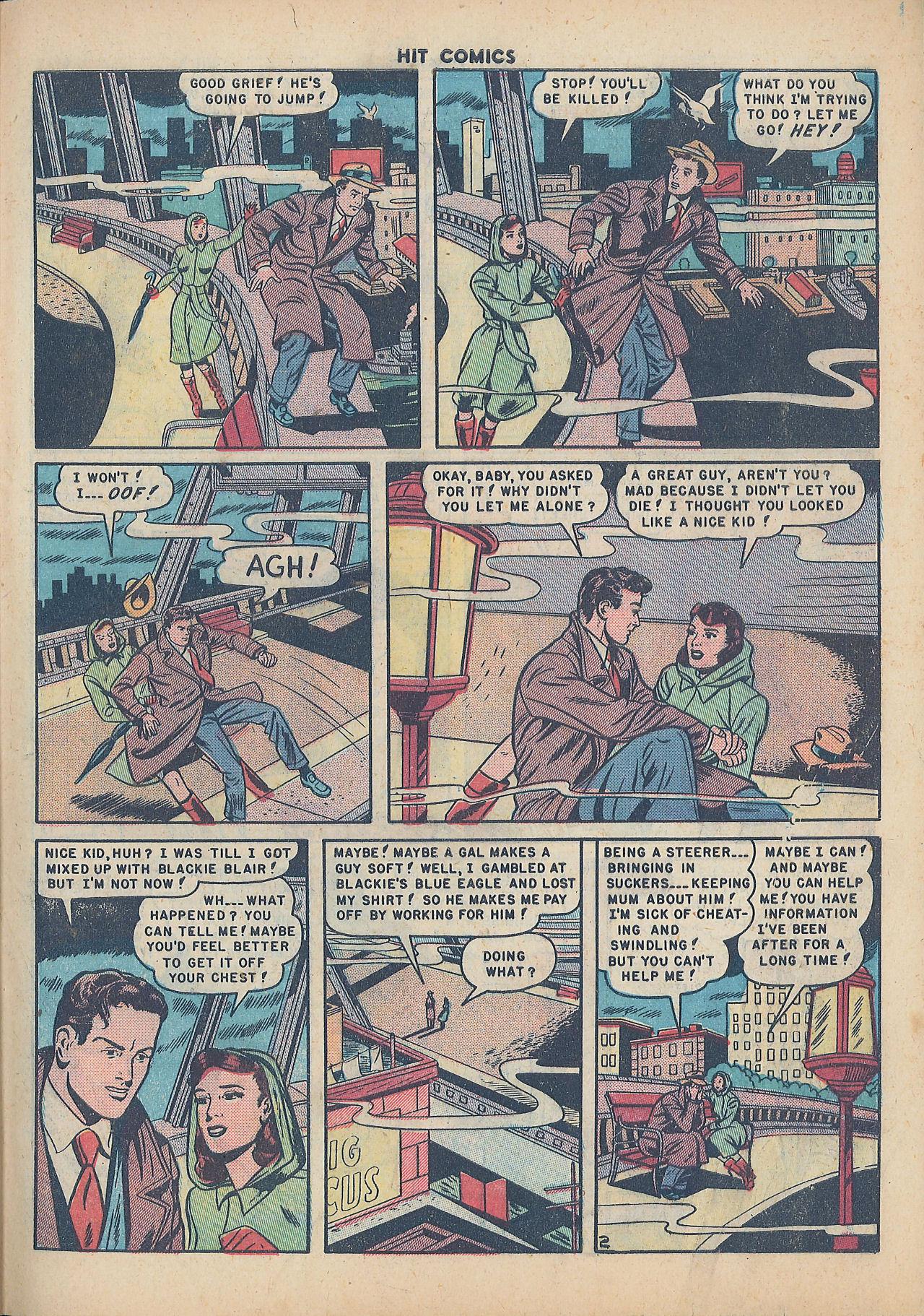 Read online Hit Comics comic -  Issue #64 - 29