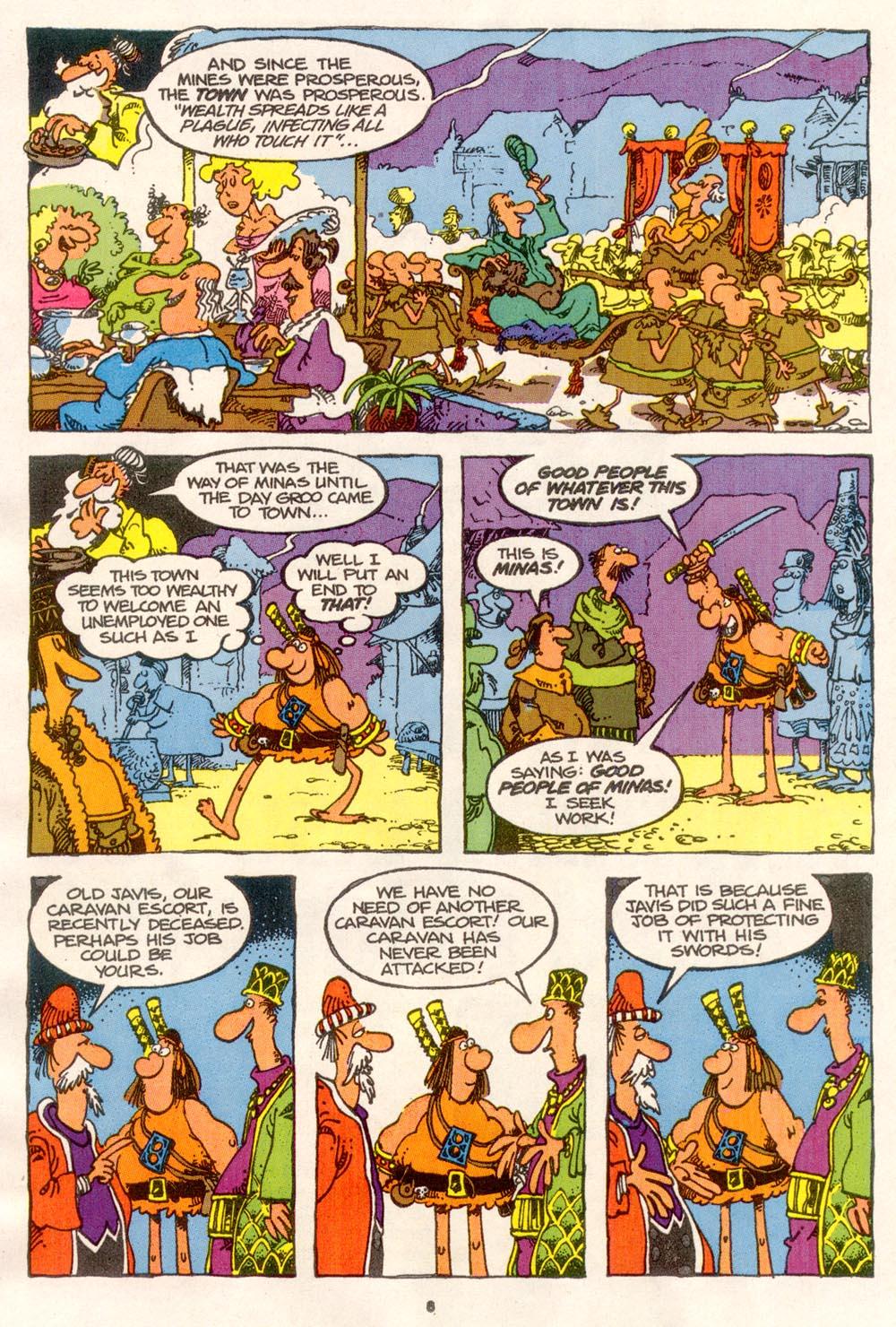 Read online Sergio Aragonés Groo the Wanderer comic -  Issue #76 - 6