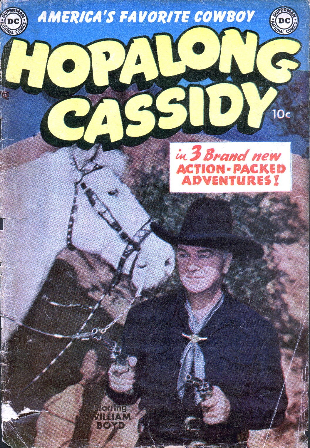 Hopalong Cassidy issue 86 - Page 1