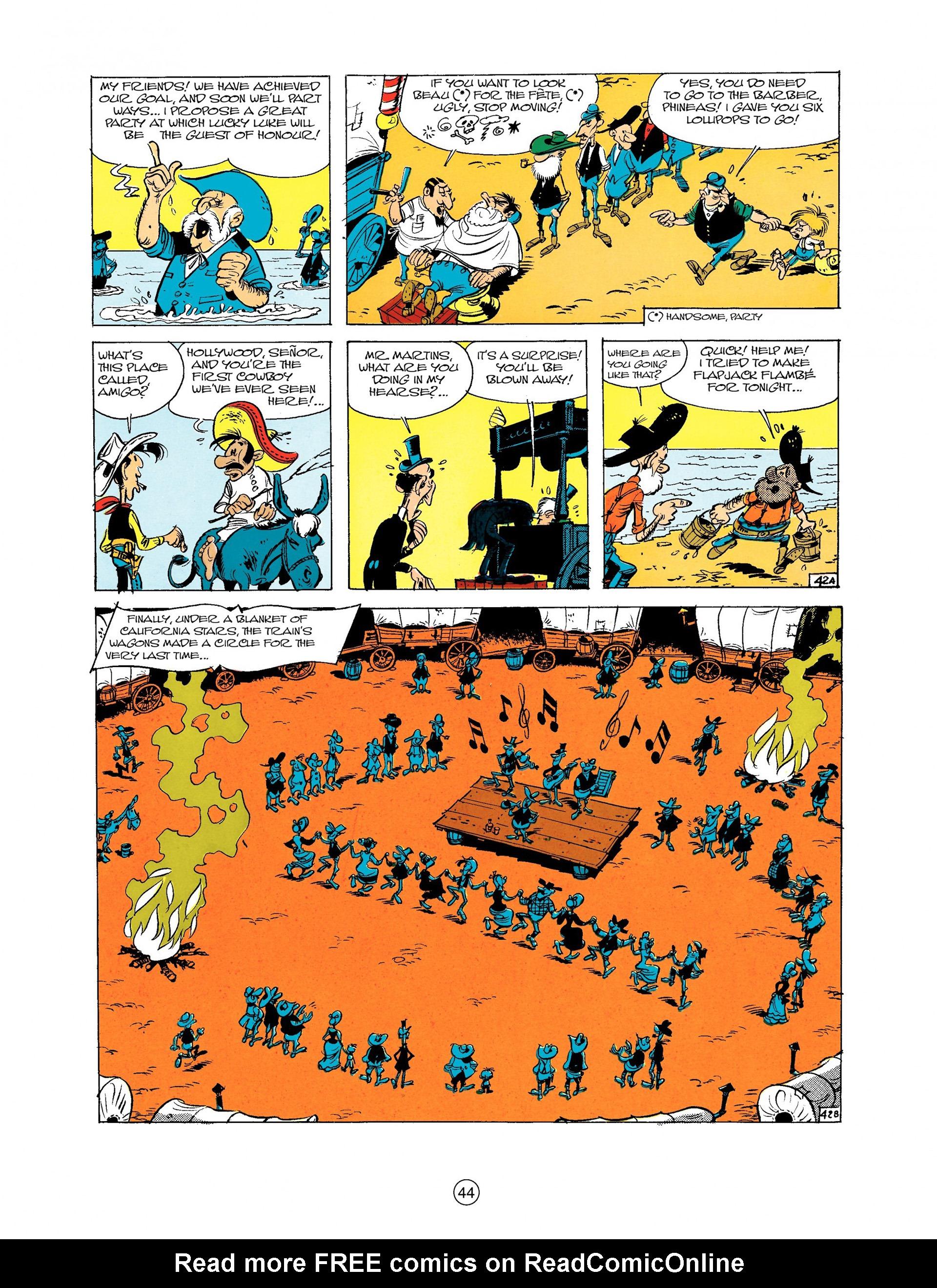 Read online A Lucky Luke Adventure comic -  Issue #9 - 44