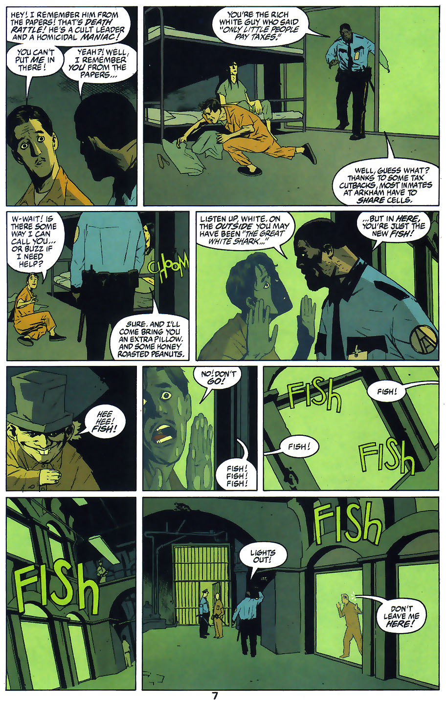 Read online Arkham Asylum: Living Hell comic -  Issue #1 - 9