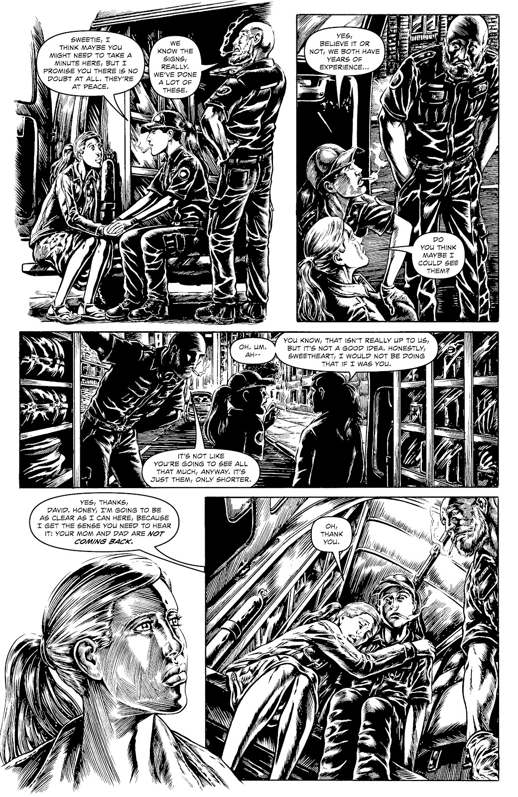 Read online Alan Moore's Cinema Purgatorio comic -  Issue #17 - 19