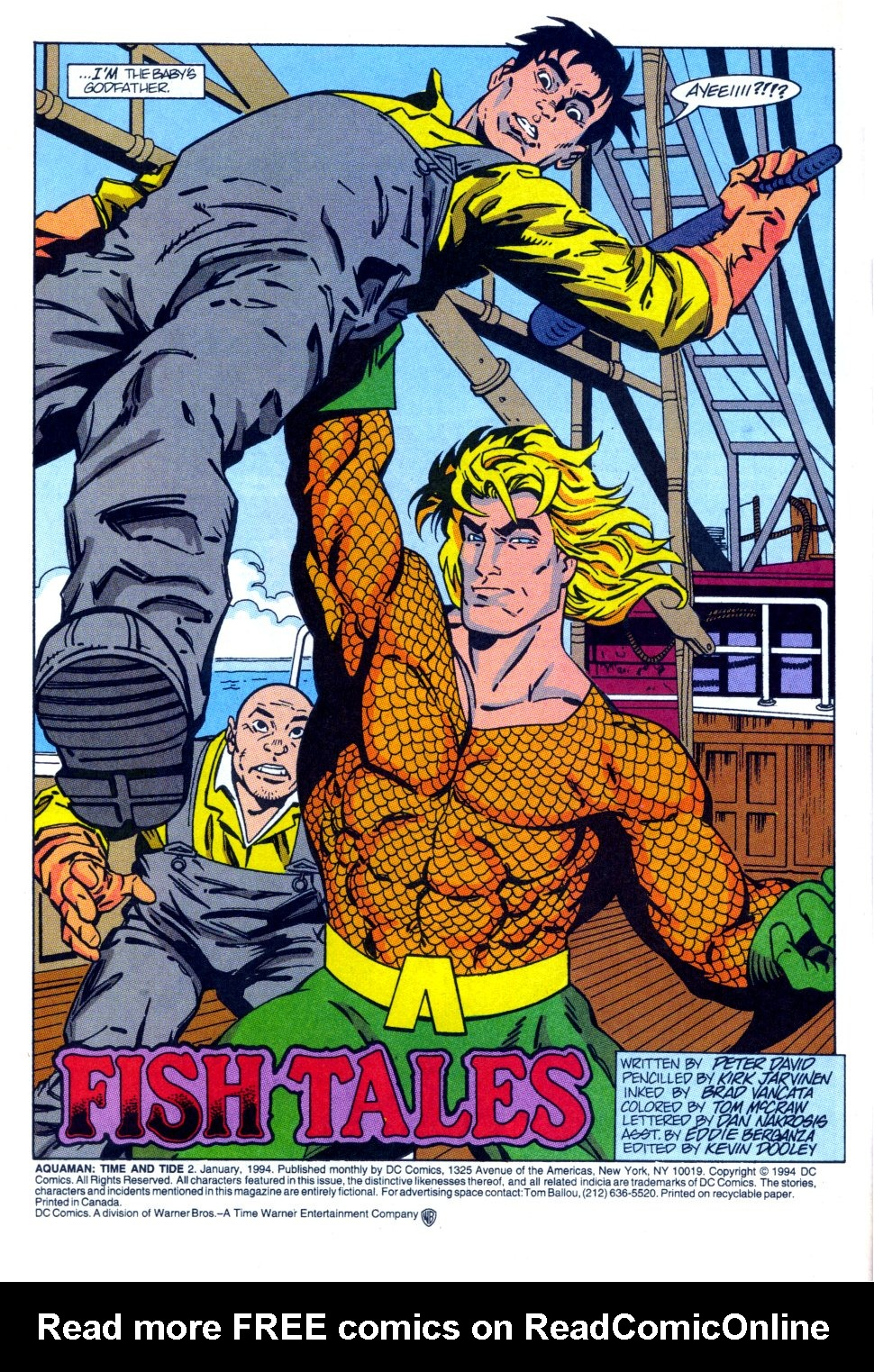 Read online Aquaman: Time and Tide comic -  Issue #2 - 5