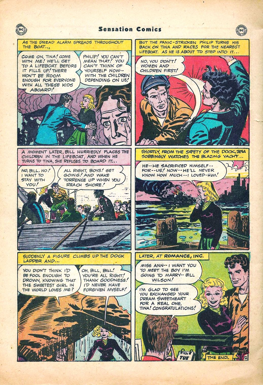 Read online Sensation (Mystery) Comics comic -  Issue #95 - 48