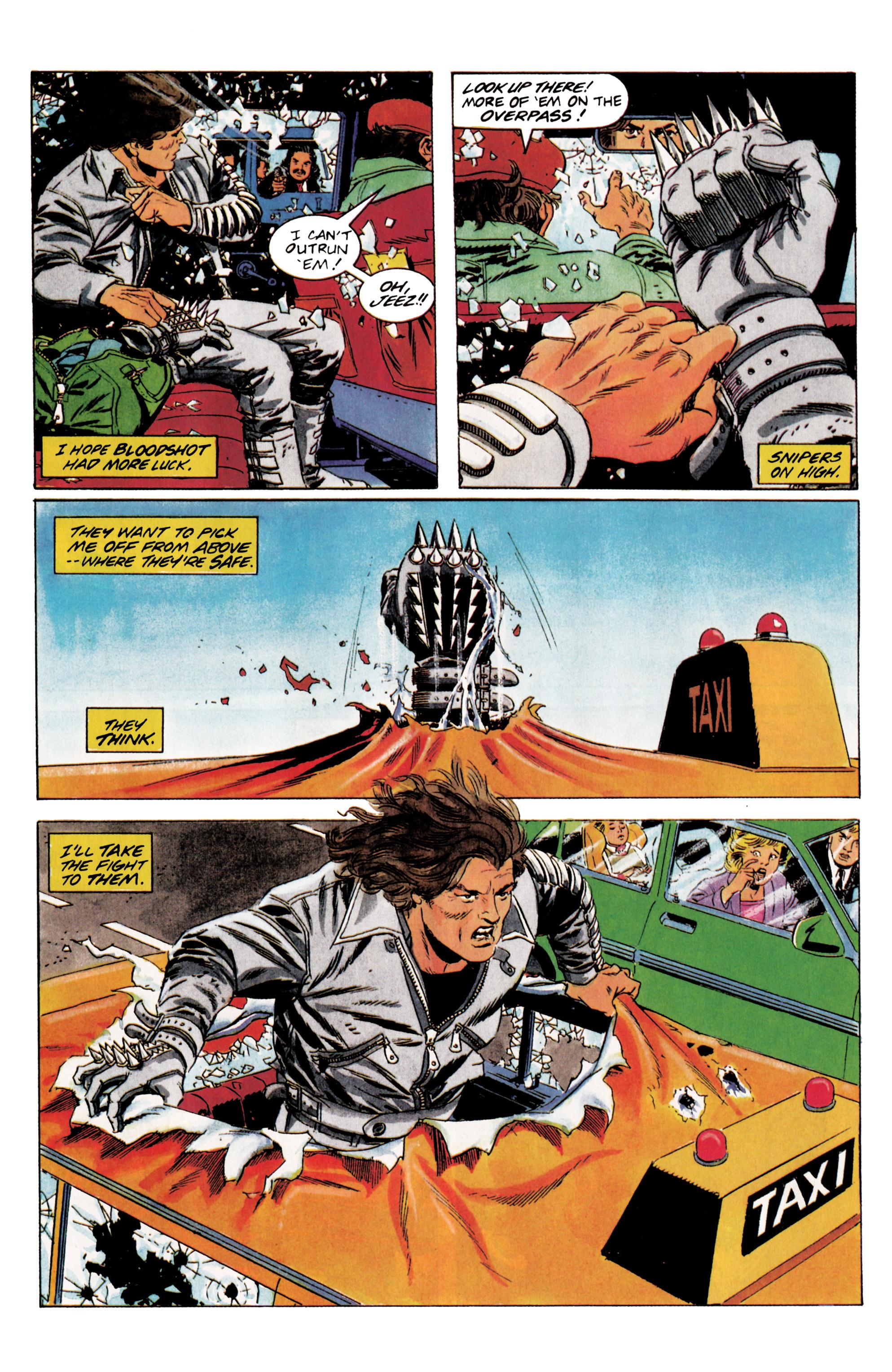 Read online Eternal Warrior (1992) comic -  Issue #5 - 11