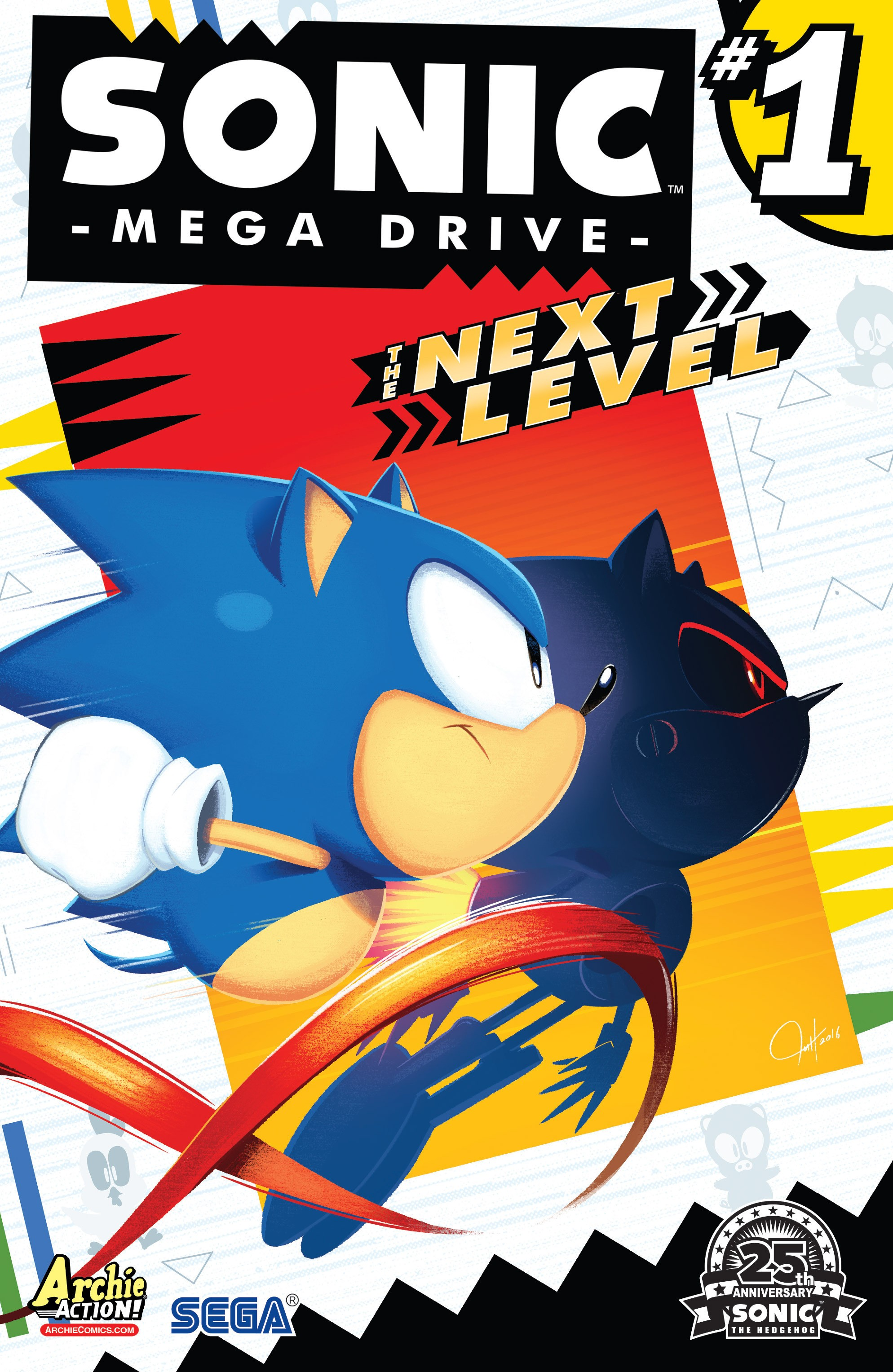 Read online Sonic: Mega Drive - The Next Level comic -  Issue # Full - 1