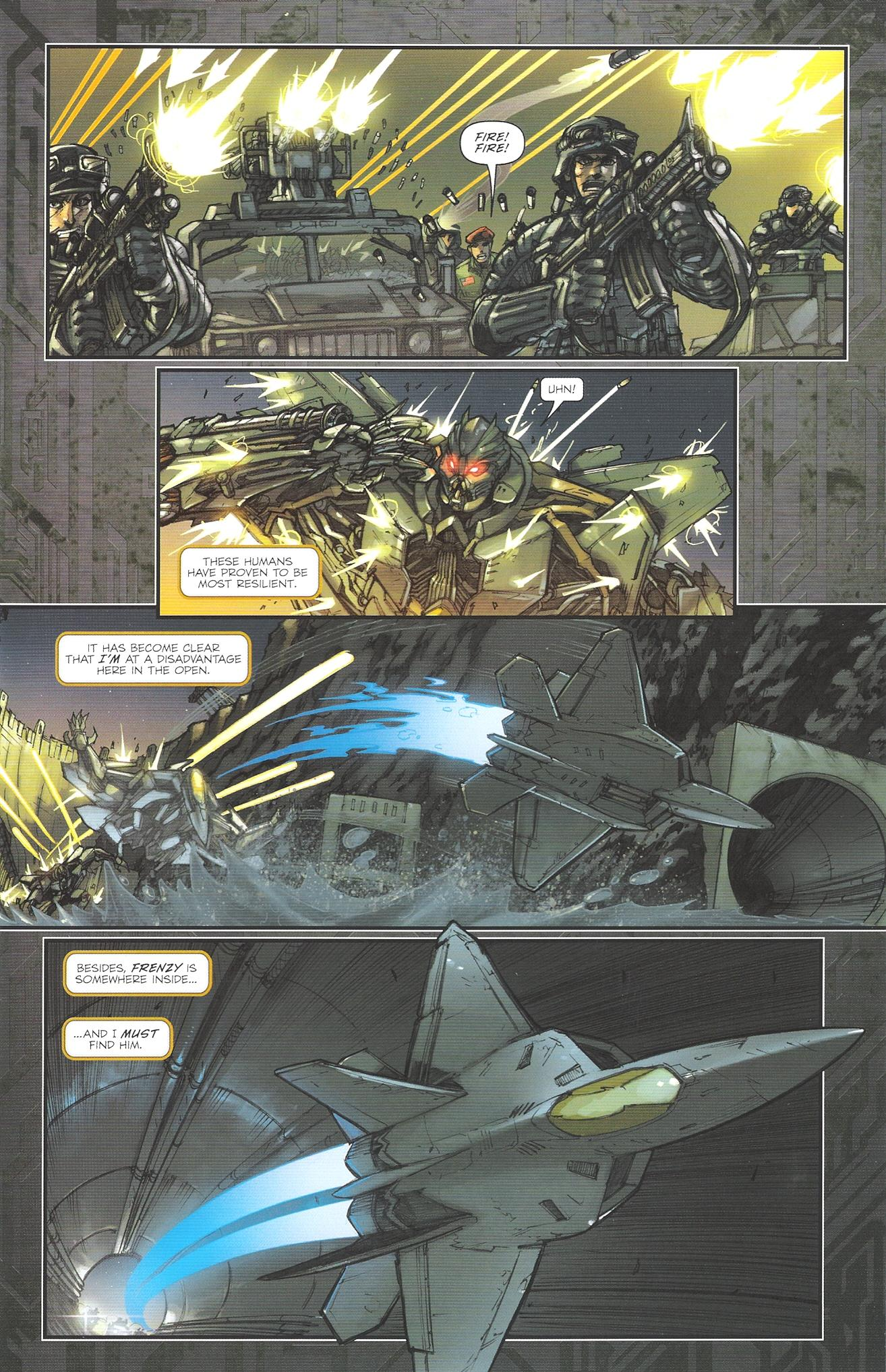 Read online Transformers: The Reign of Starscream comic -  Issue #2 - 5