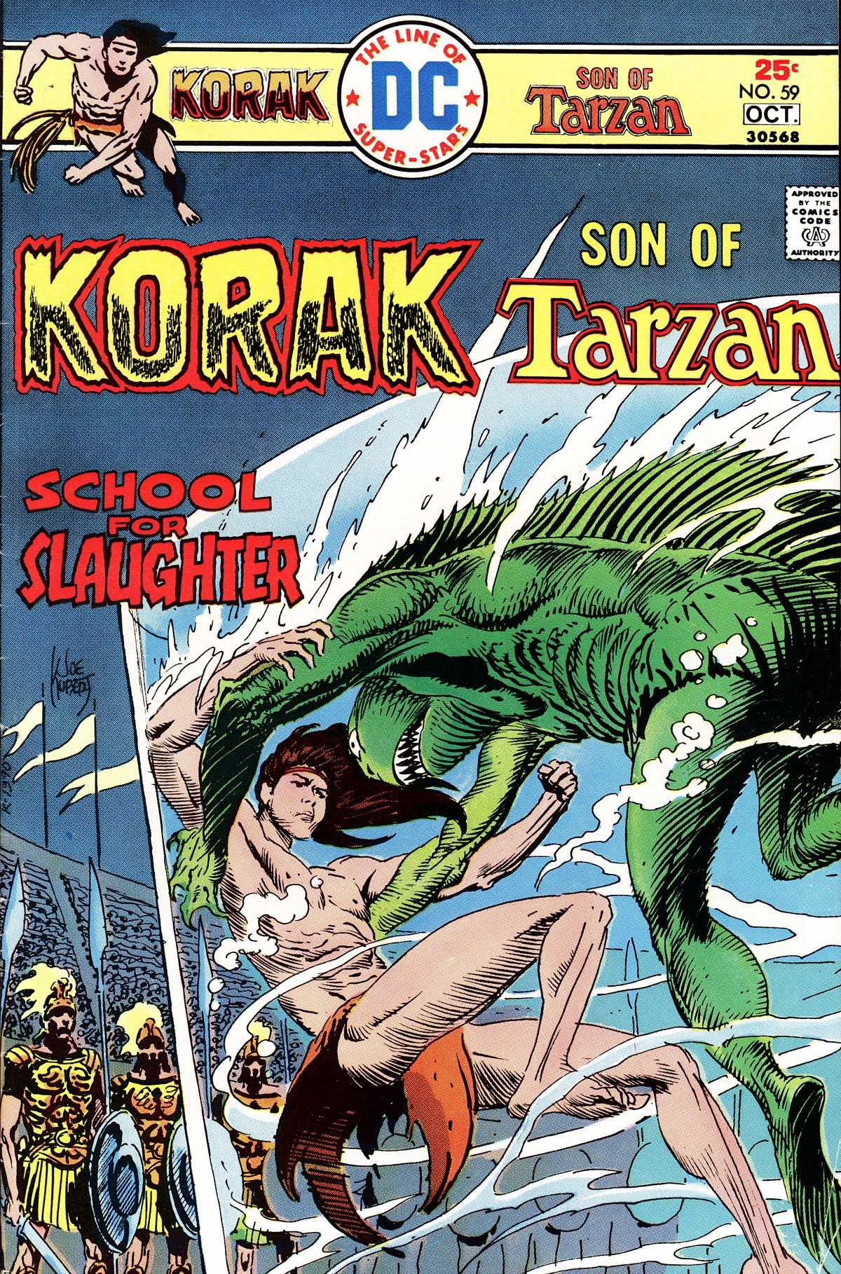 Korak, Son of Tarzan (1972) issue 59 - Page 1