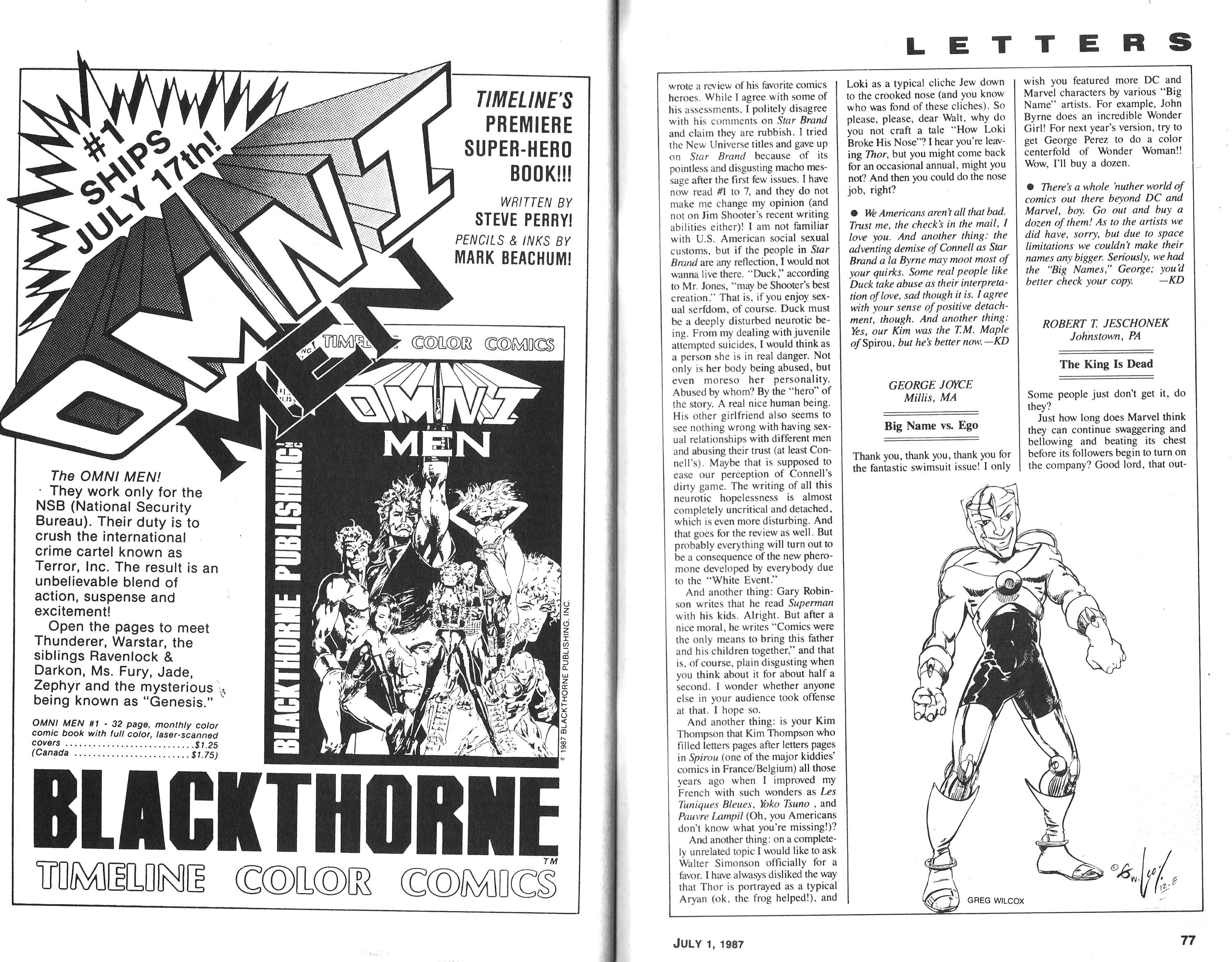 Read online Amazing Heroes comic -  Issue #120 - 39