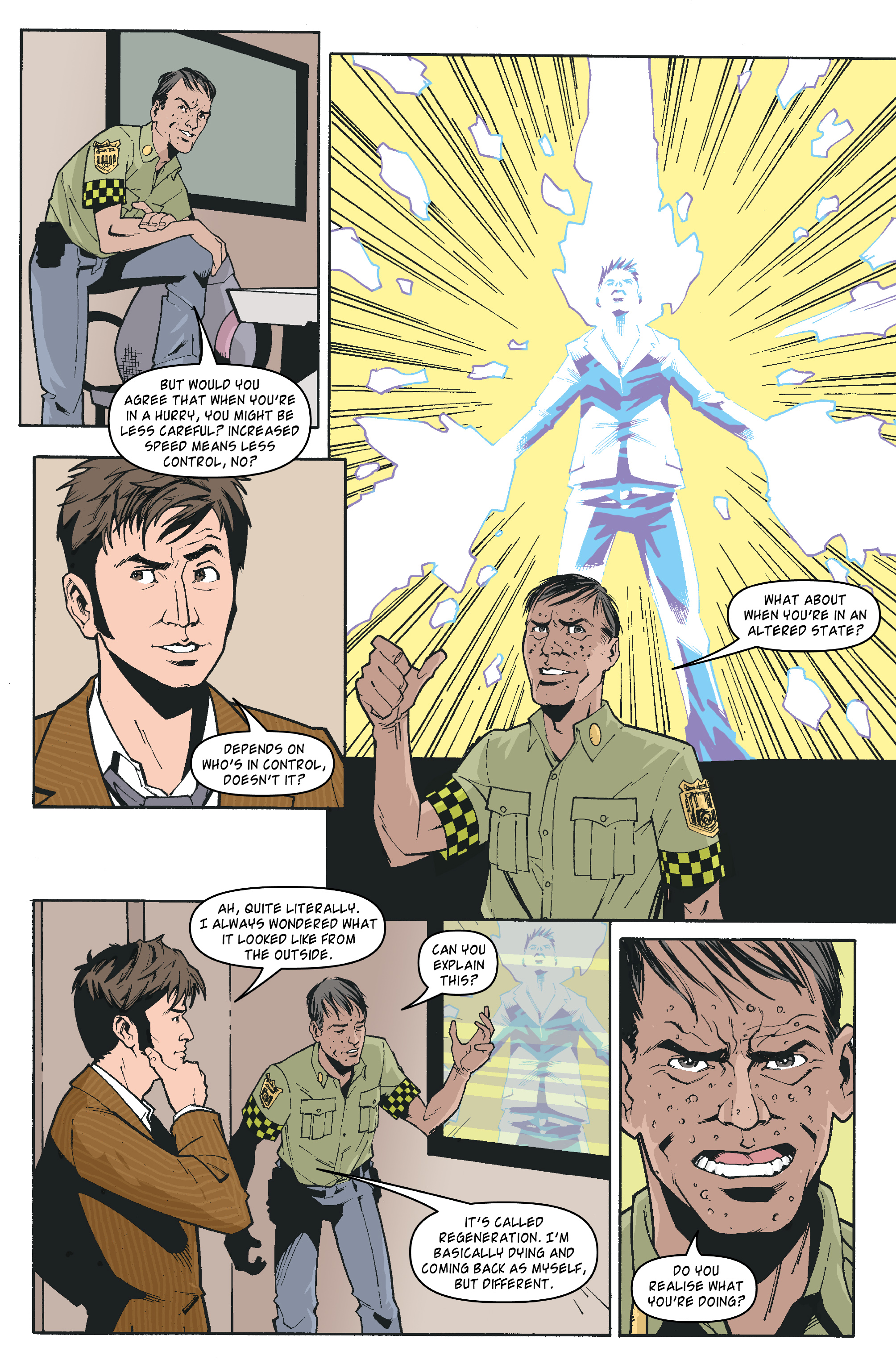 Read online Doctor Who: The Tenth Doctor Archives comic -  Issue #35 - 15