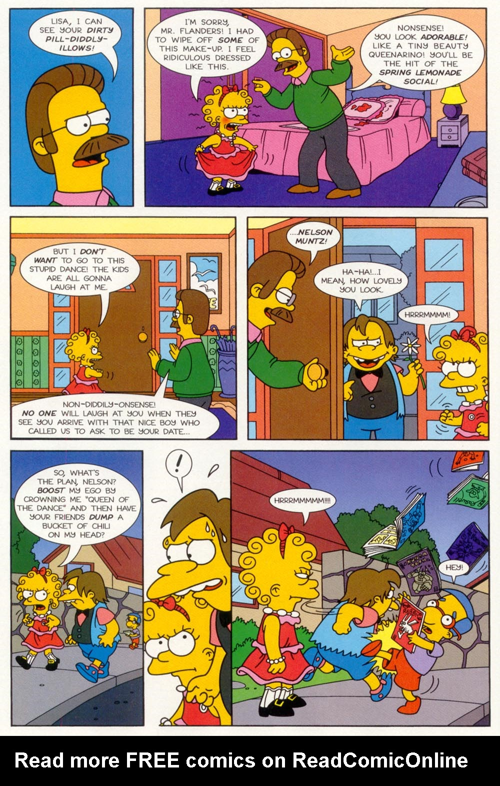 Read online Treehouse of Horror comic -  Issue #5 - 11