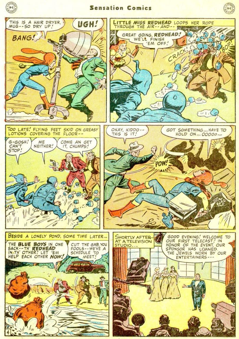 Read online Sensation (Mystery) Comics comic -  Issue #77 - 20