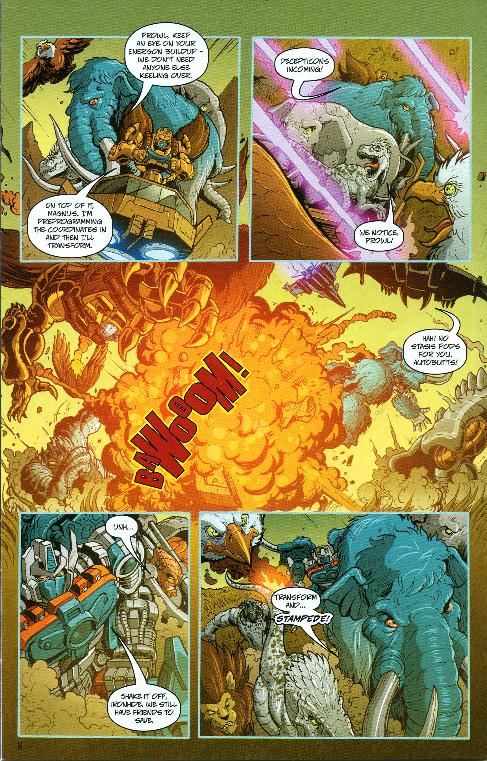 Read online Transformers: Collectors' Club comic -  Issue #50 - 8