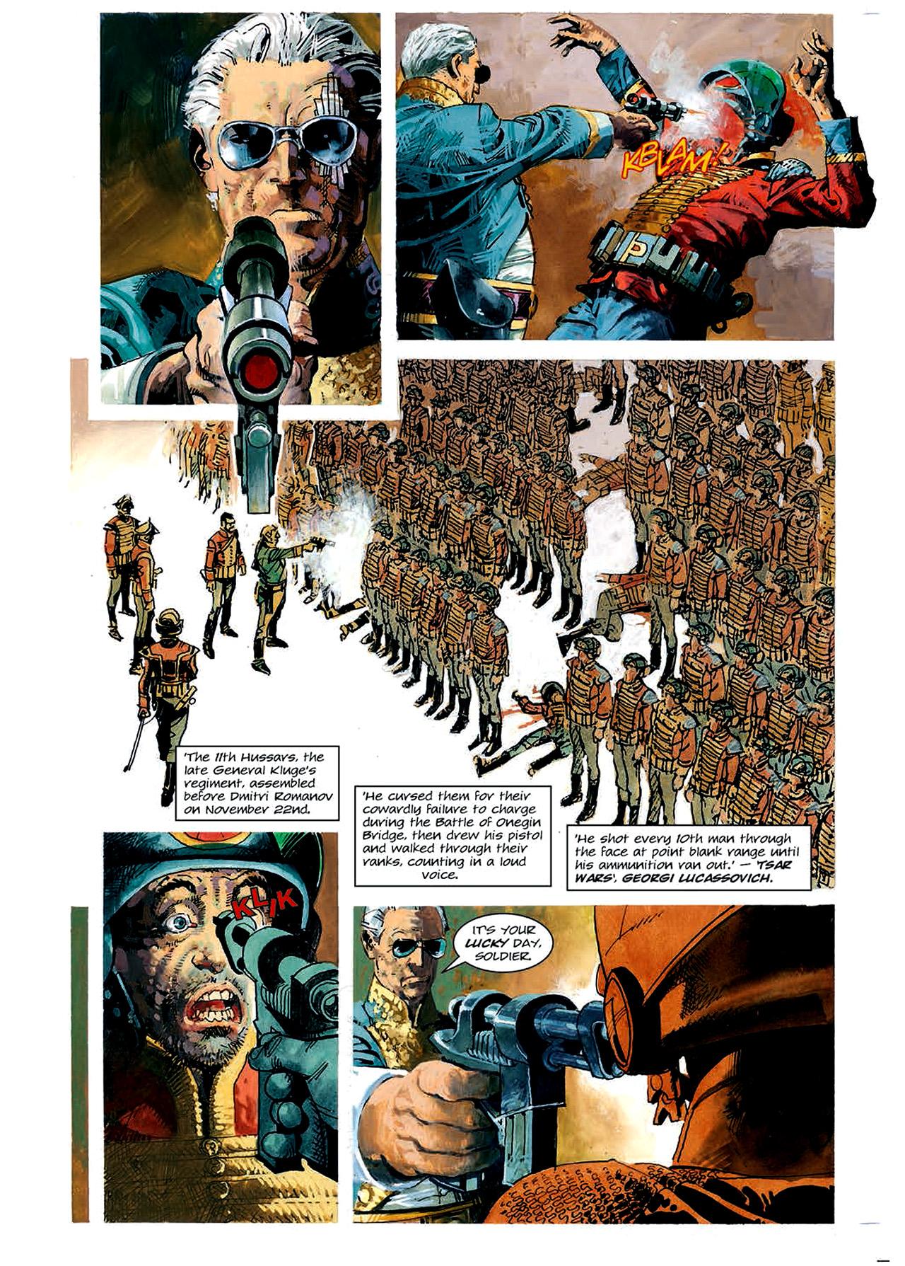 Read online Nikolai Dante comic -  Issue # TPB 4 - 83