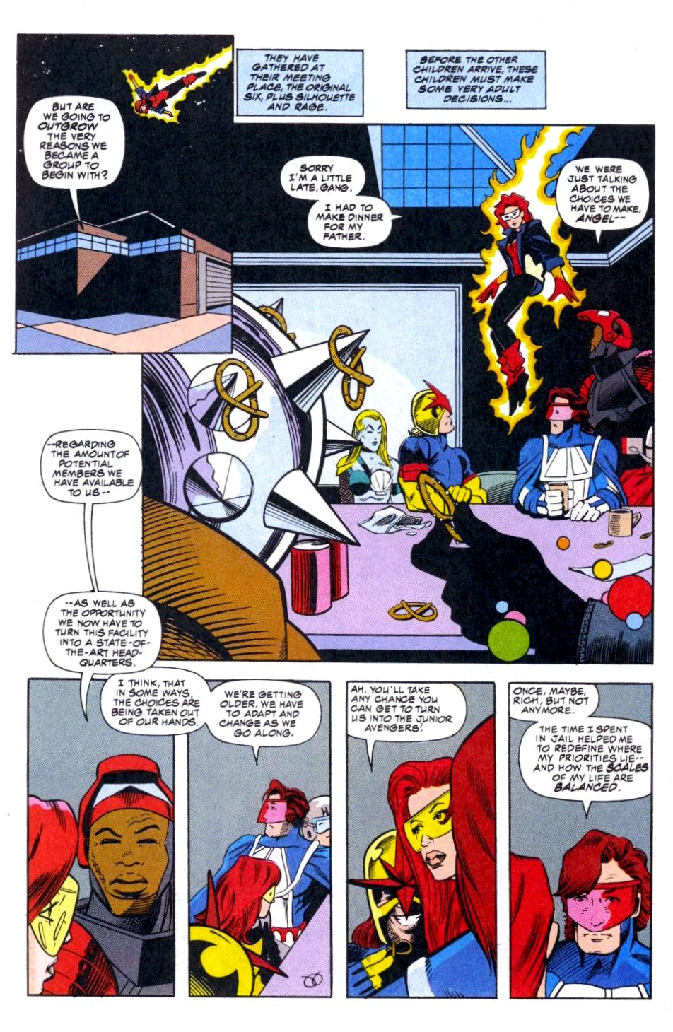 The New Warriors Issue #51 #55 - English 16