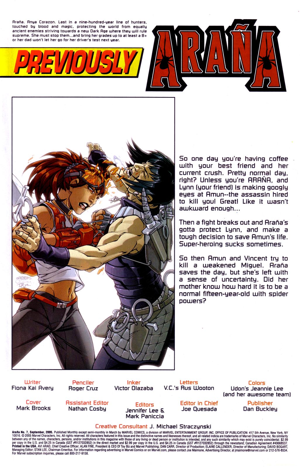 Read online Araña: Heart of the Spider comic -  Issue #7 - 2