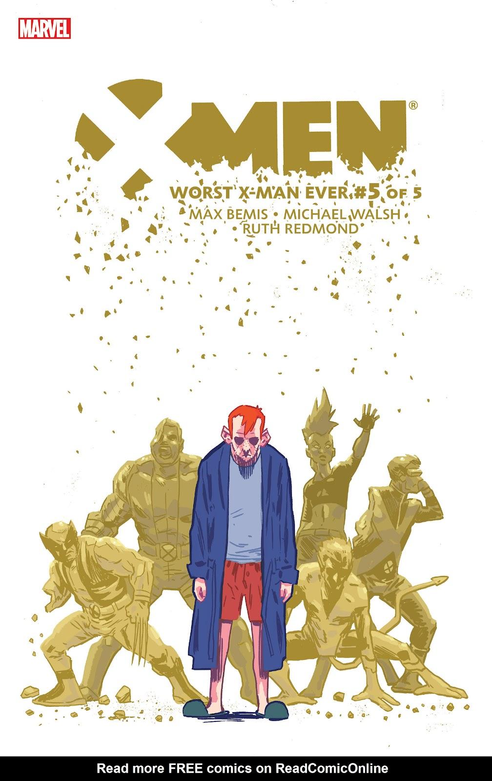 X-Men: Worst X-Man Ever 5 Page 1