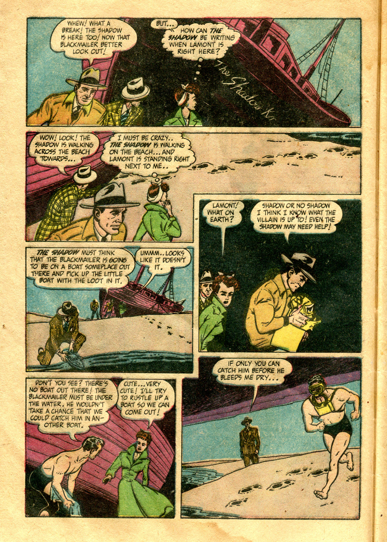Read online Shadow Comics comic -  Issue #99 - 10