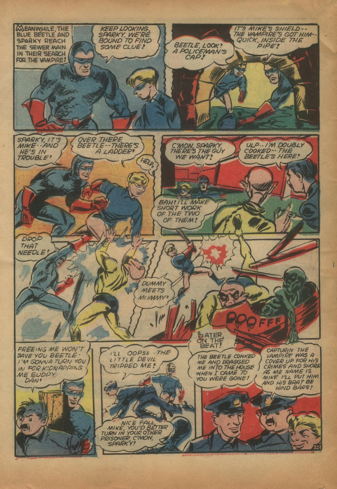 The Blue Beetle issue 15 - Page 60