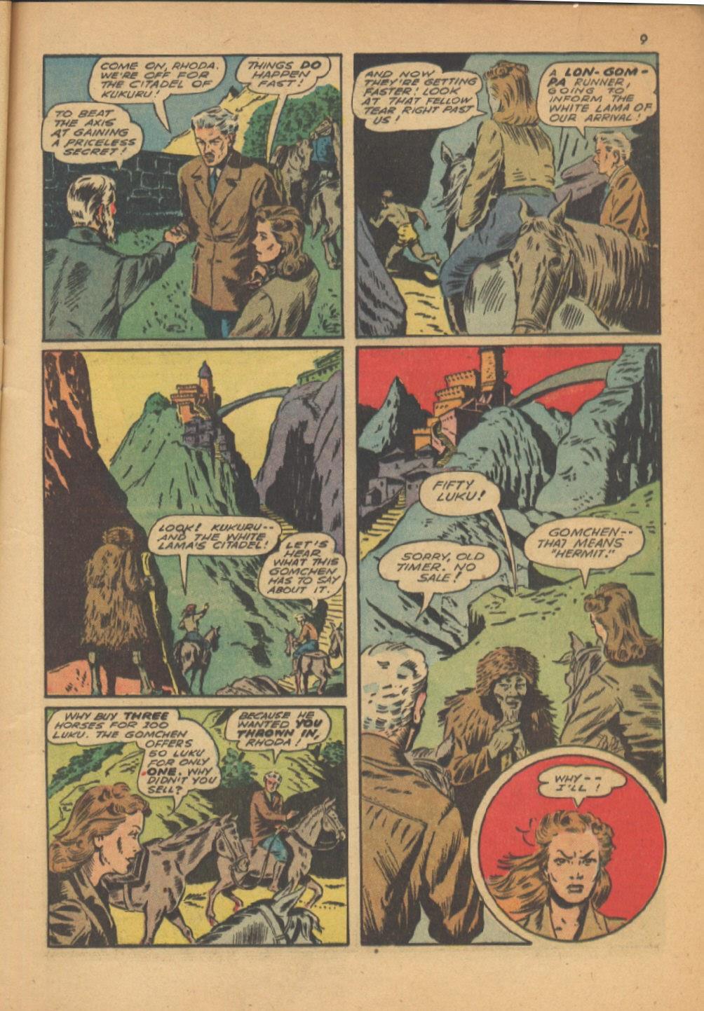 Read online Super-Magician Comics comic -  Issue #13 - 9