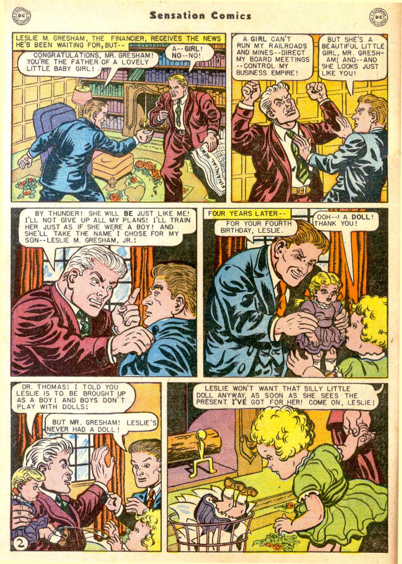 Read online Sensation (Mystery) Comics comic -  Issue #85 - 3