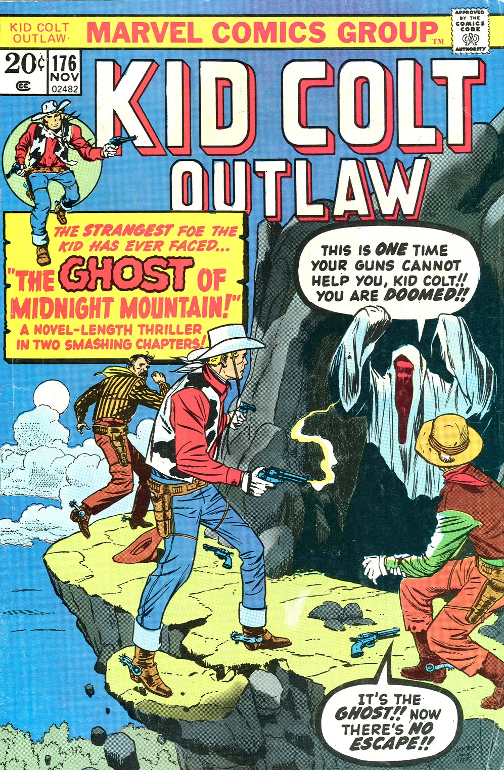 Kid Colt Outlaw issue 176 - Page 1