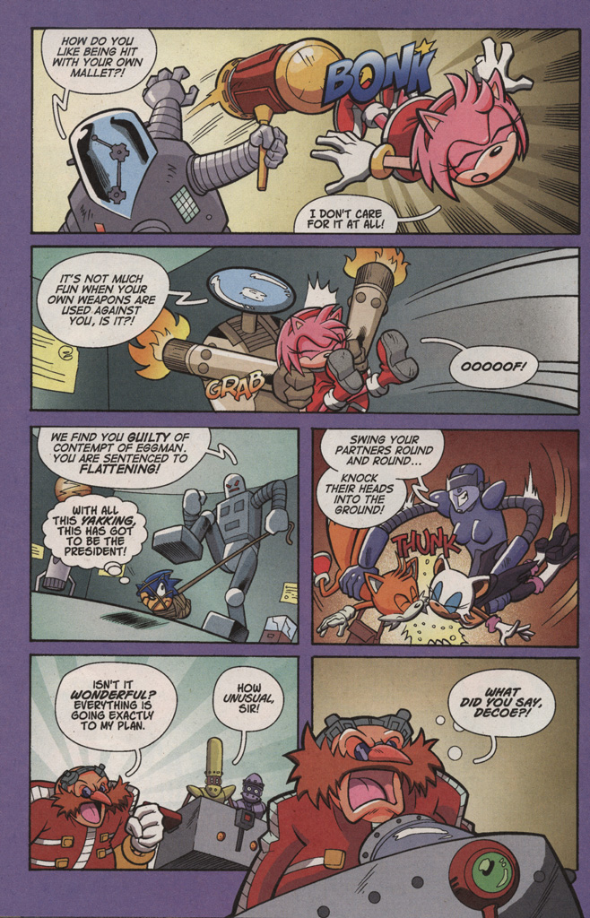 Read online Sonic X comic -  Issue #4 - 14