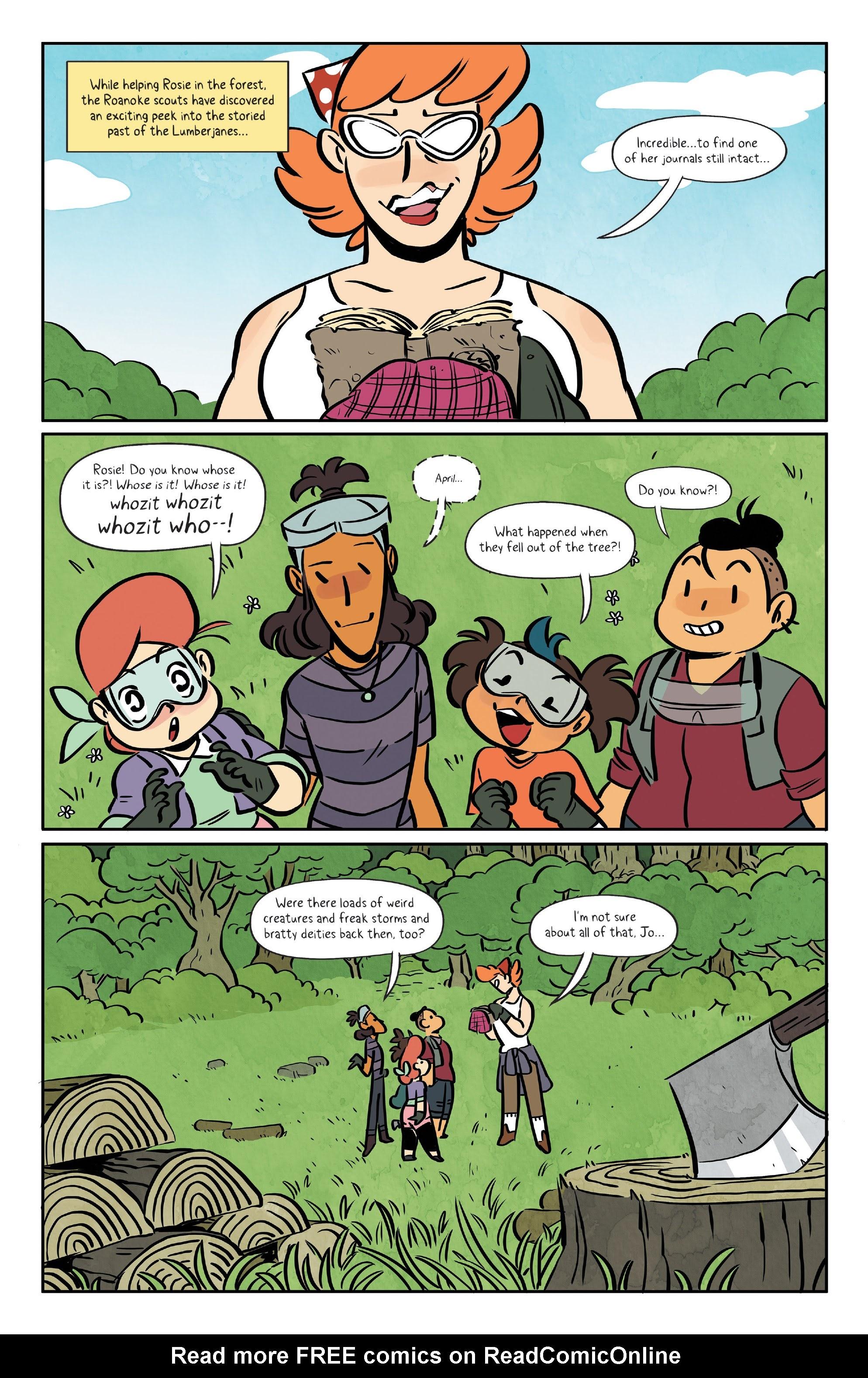 Lumberjanes 70 Page 3