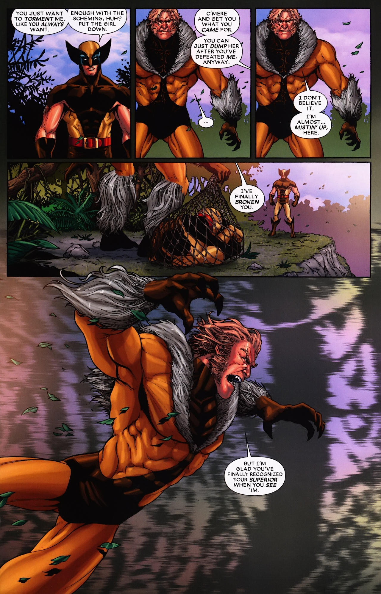 Read online Wolverine: First Class comic -  Issue #9 - 18