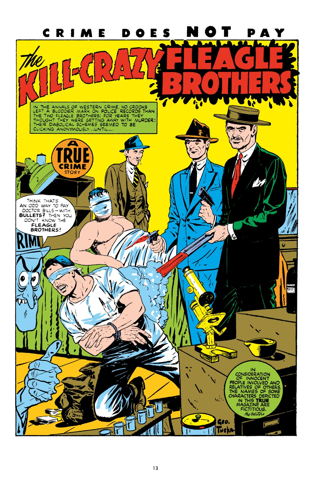 Read online Crime Does Not Pay Archives comic -  Issue # TPB 8 (Part 1) - 15