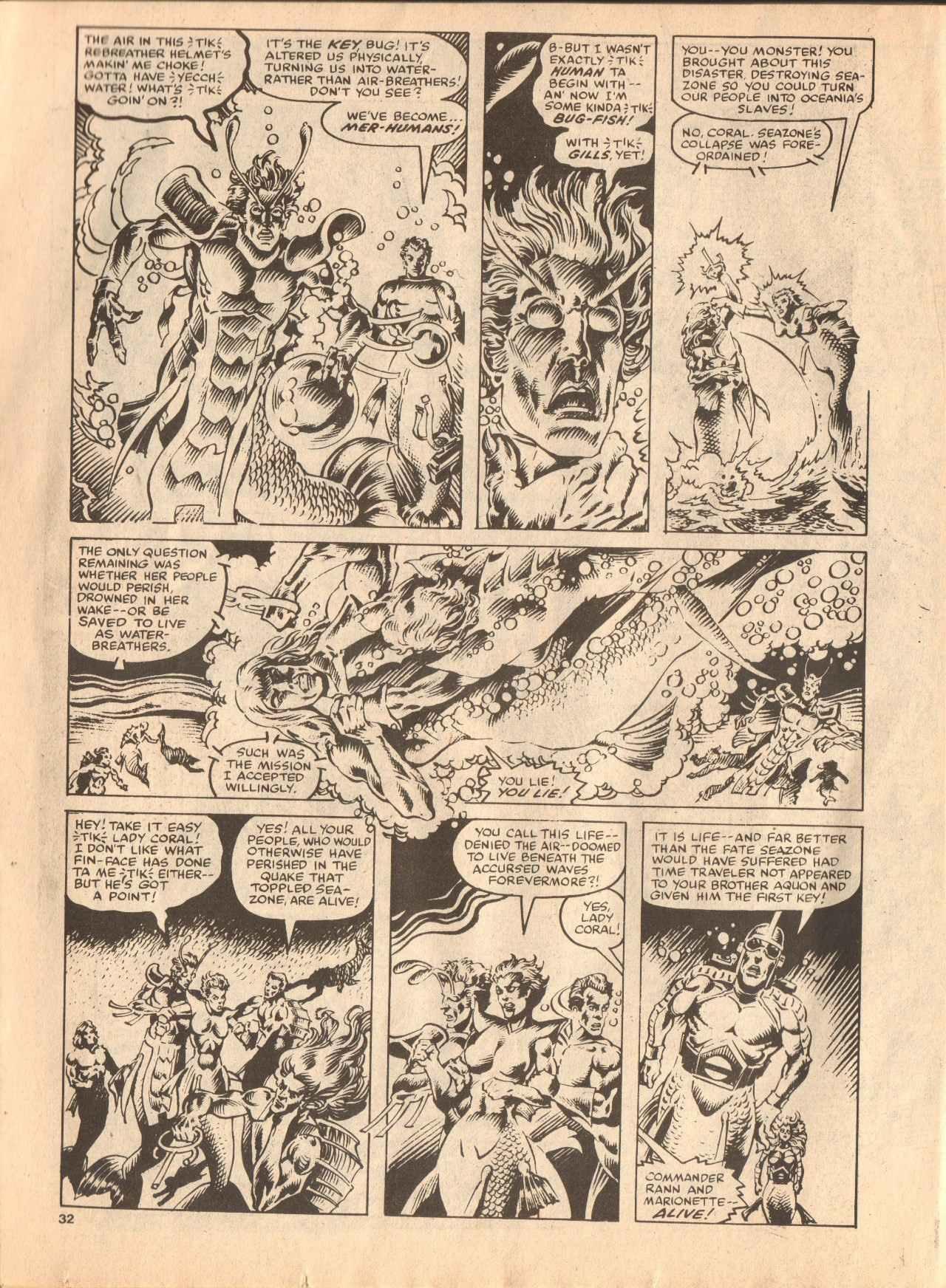 Read online Future Tense comic -  Issue #38 - 32