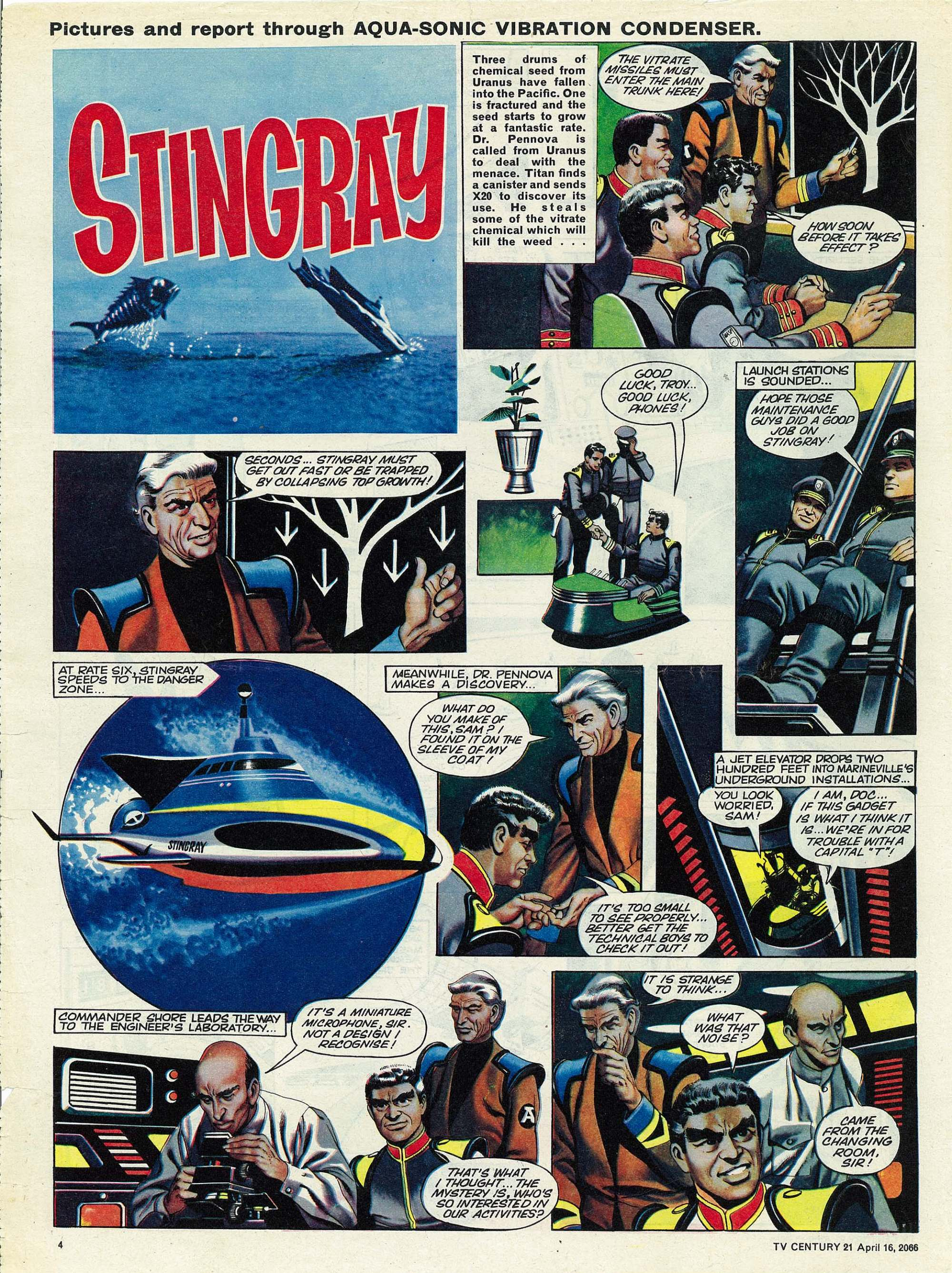 Read online TV Century 21 (TV 21) comic -  Issue #65 - 4