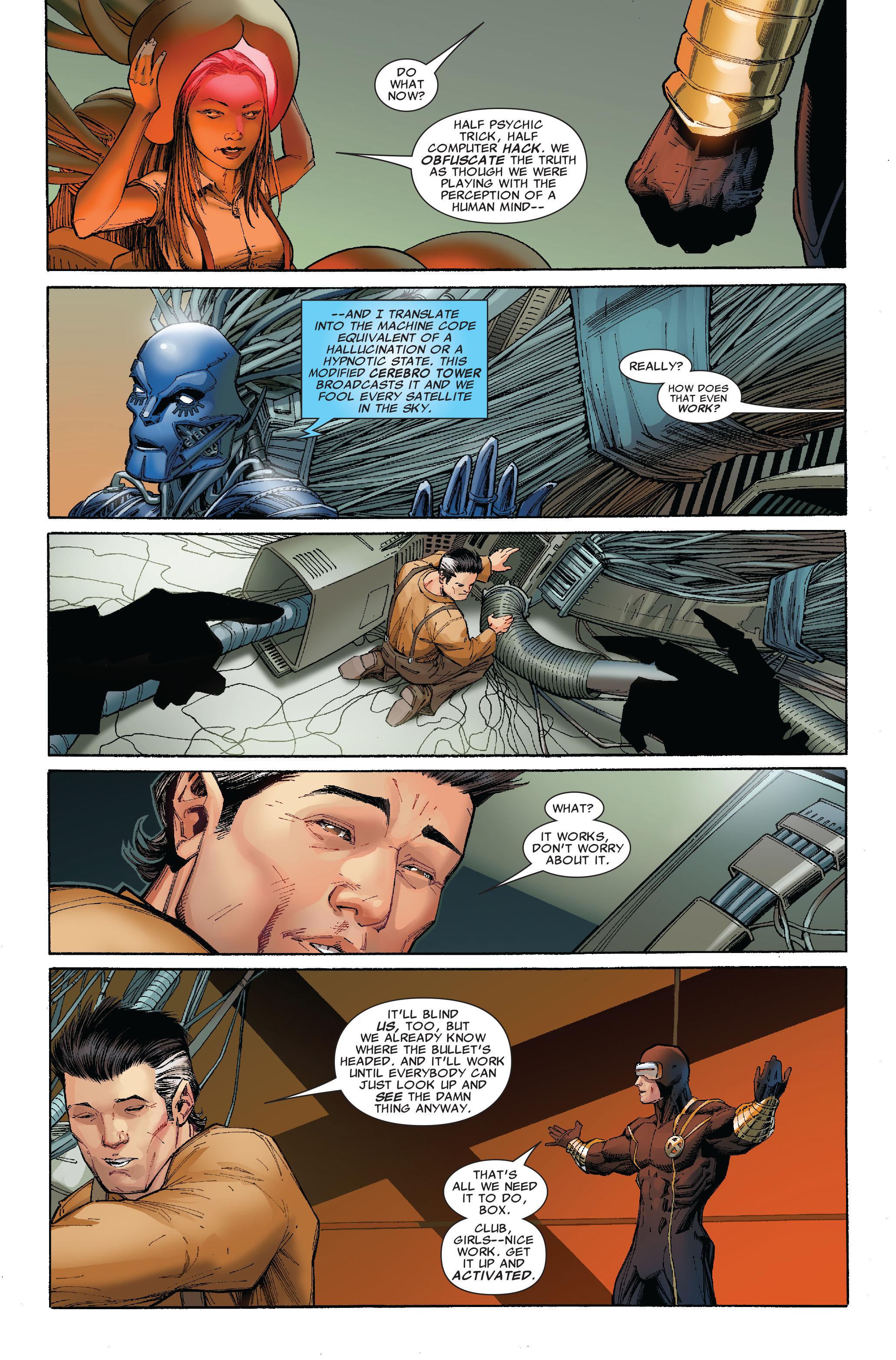 Read online Uncanny X-Men (1963) comic -  Issue #522 - 12
