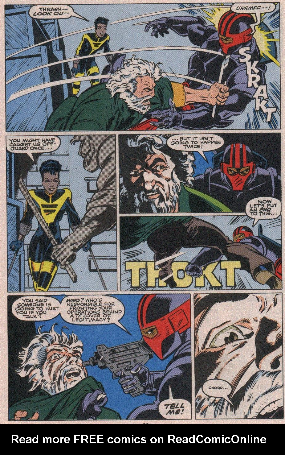 The New Warriors Issue #18 #22 - English 17
