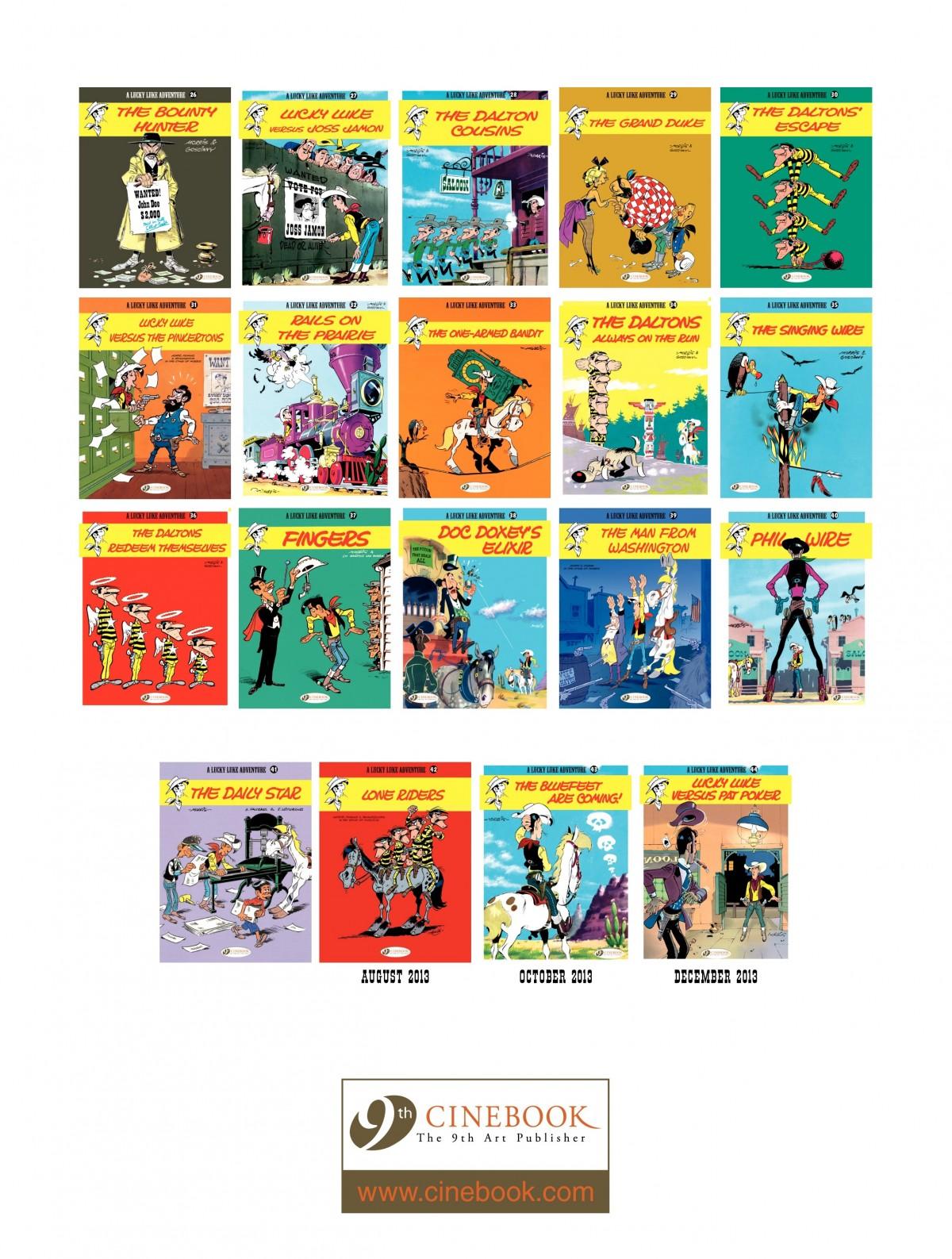 Read online A Lucky Luke Adventure comic -  Issue #41 - 48