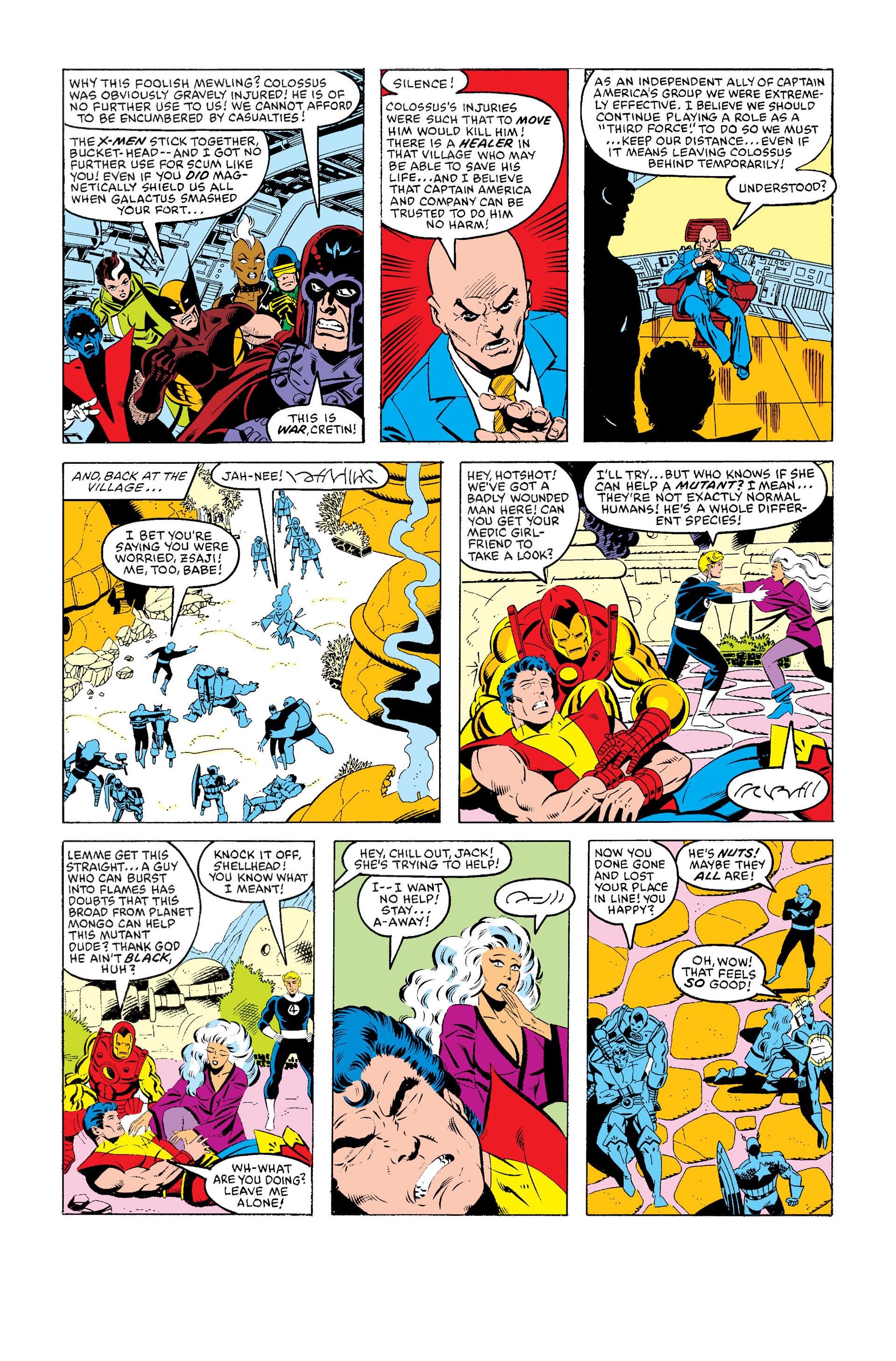 Read online Secret Wars (1985) comic -  Issue #5 - 23
