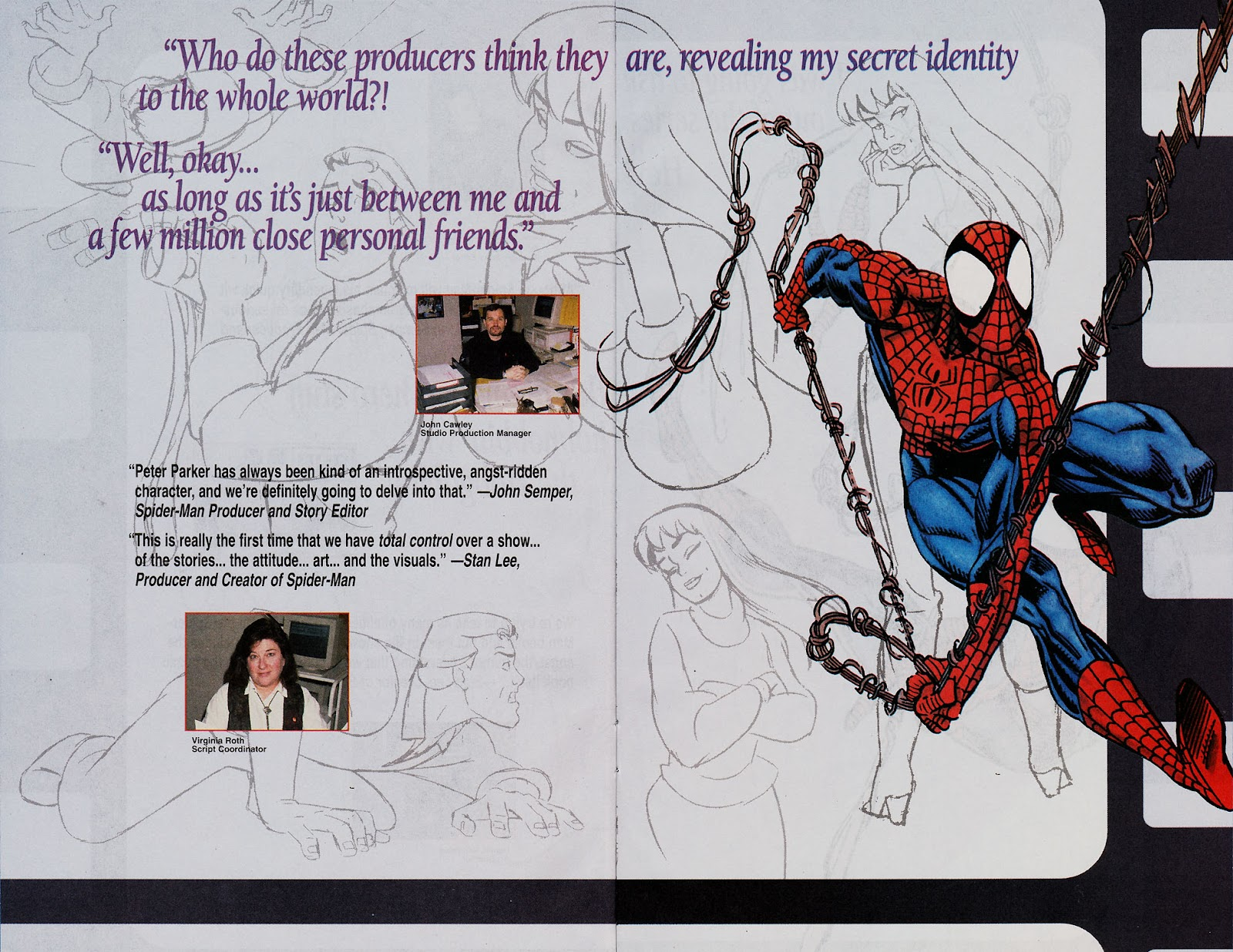 Web of Spider-Man (1985) Issue #113 #123 - English 36