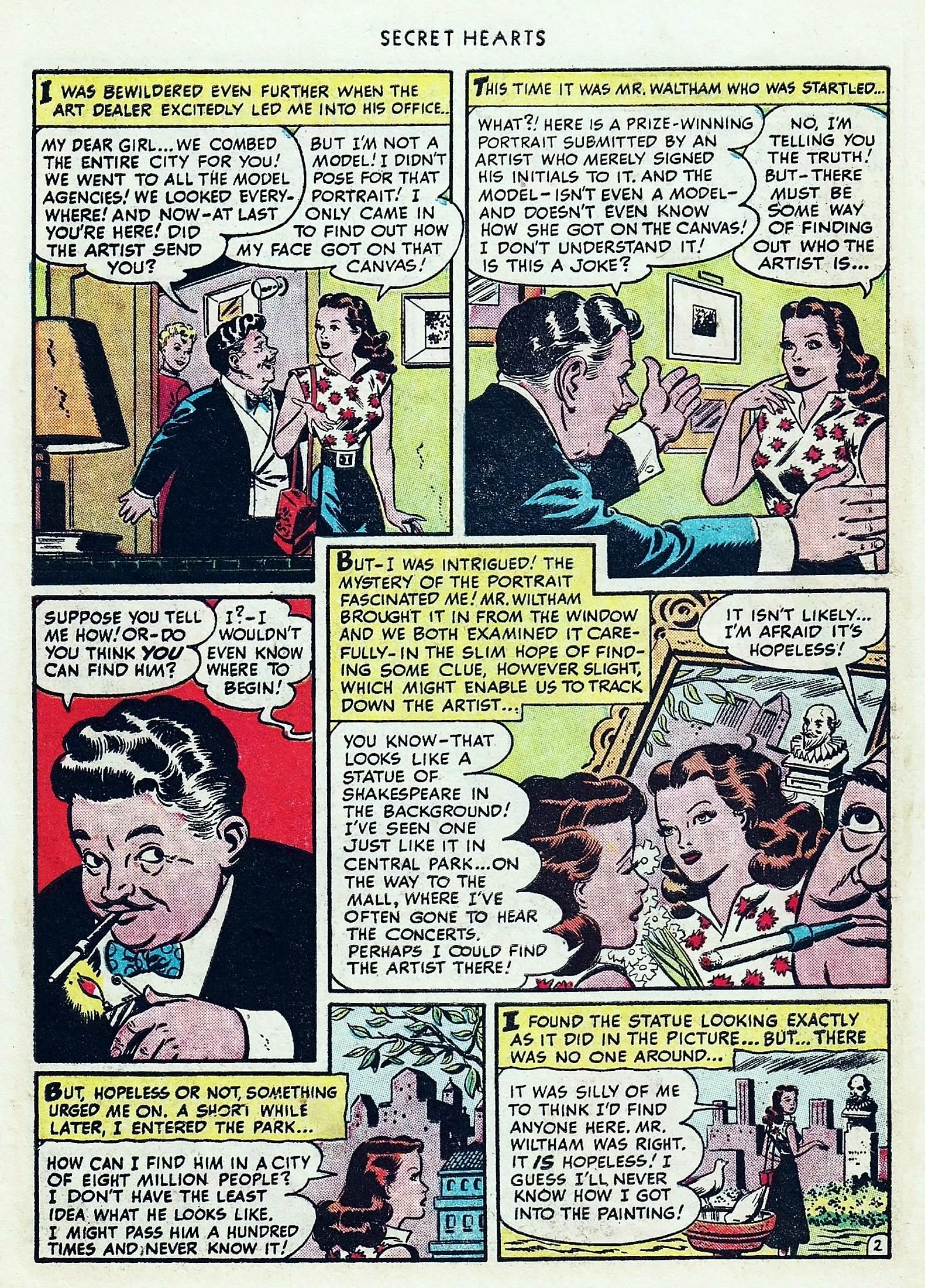 Read online Secret Hearts comic -  Issue #1 - 14