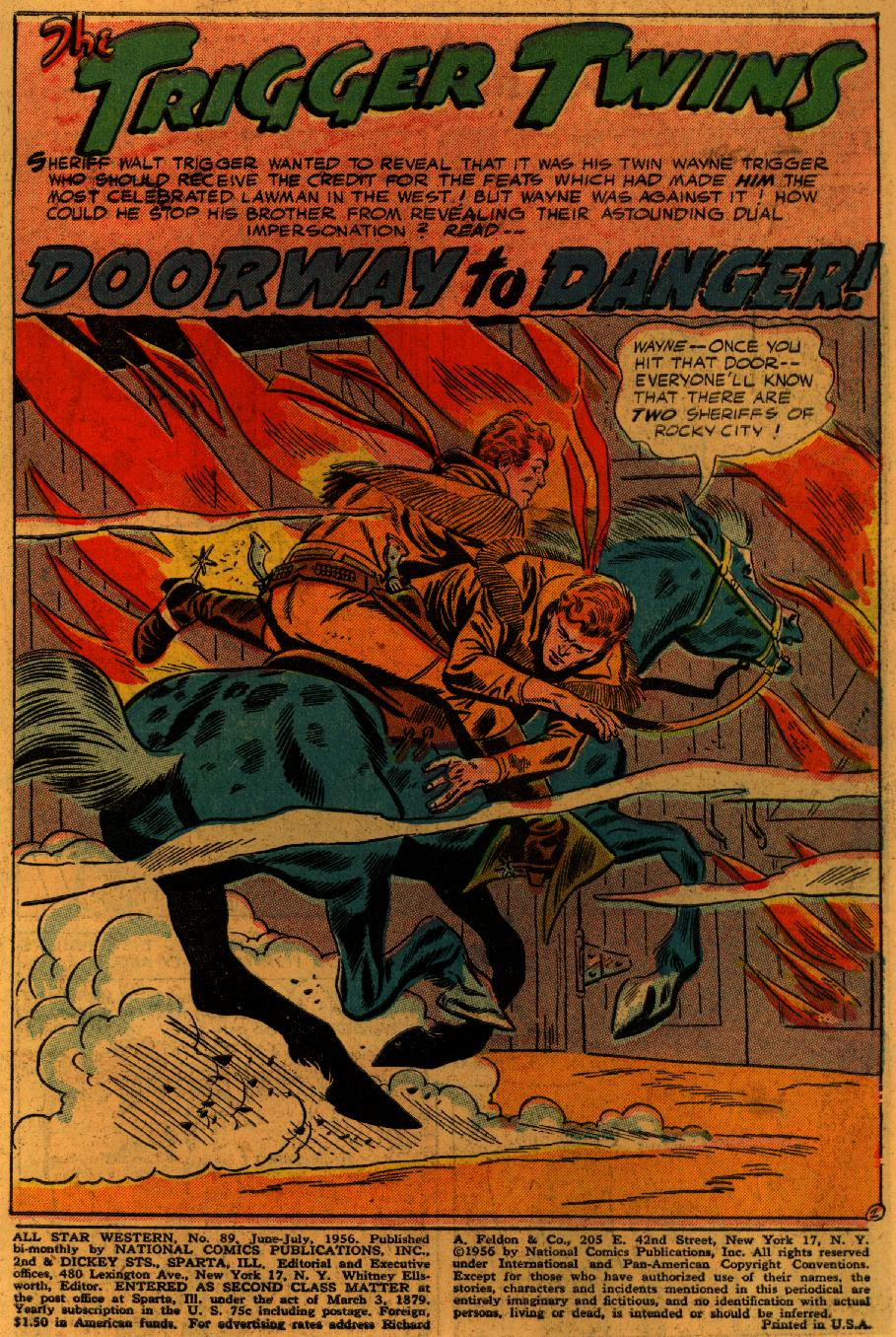 Read online All-Star Western (1951) comic -  Issue #89 - 4