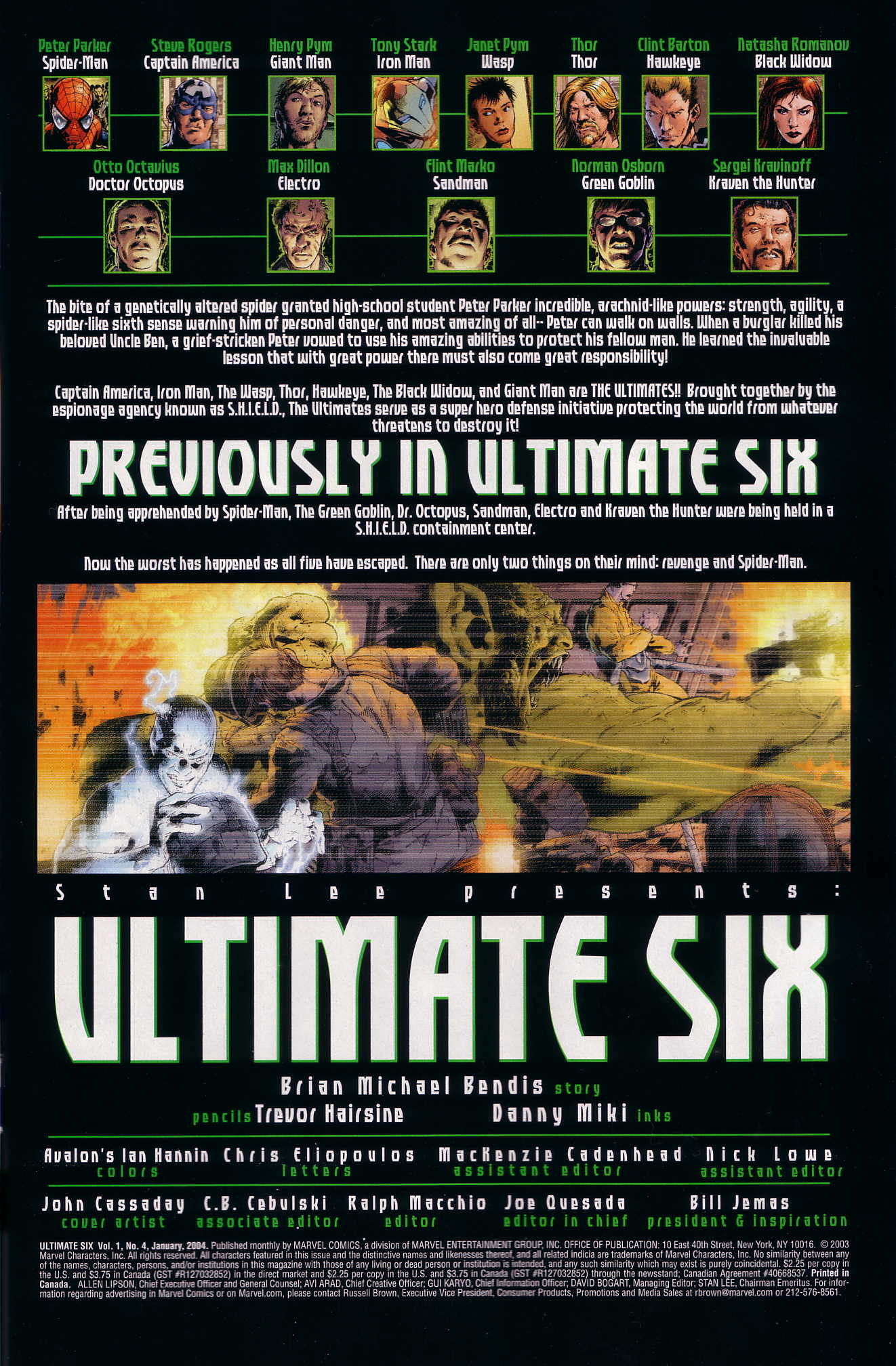 Read online Ultimate Six comic -  Issue #4 - 2
