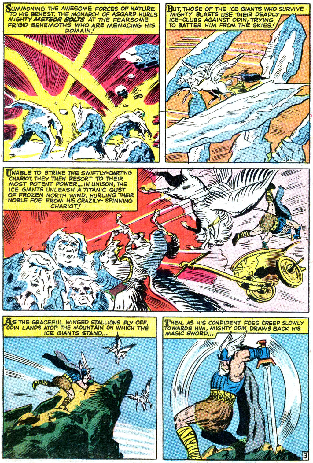 Read Online Tales Of Asgard 1968 Comic Issue Full