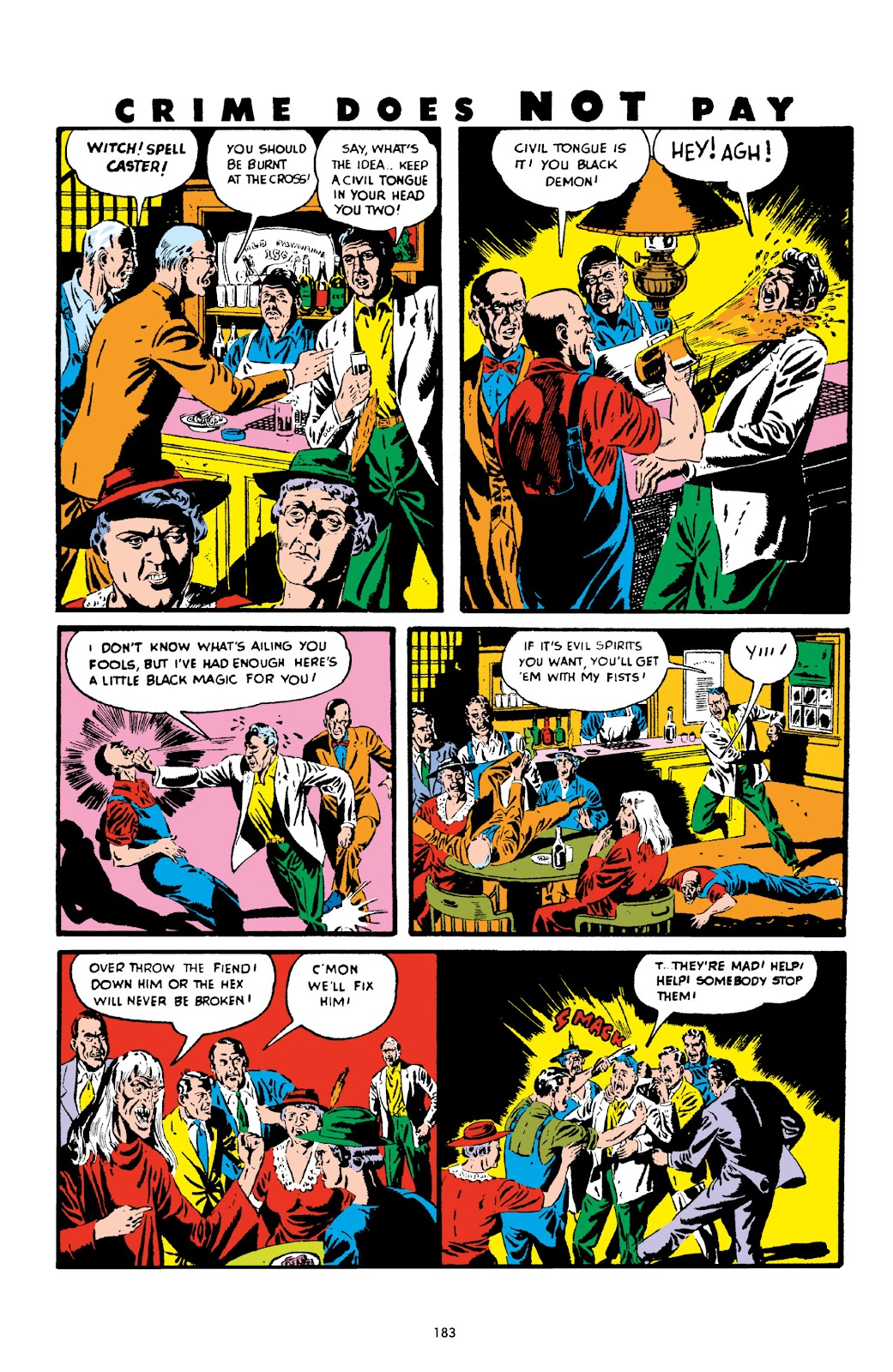 Read online Crime Does Not Pay Archives comic -  Issue # TPB 2 (Part 2) - 83