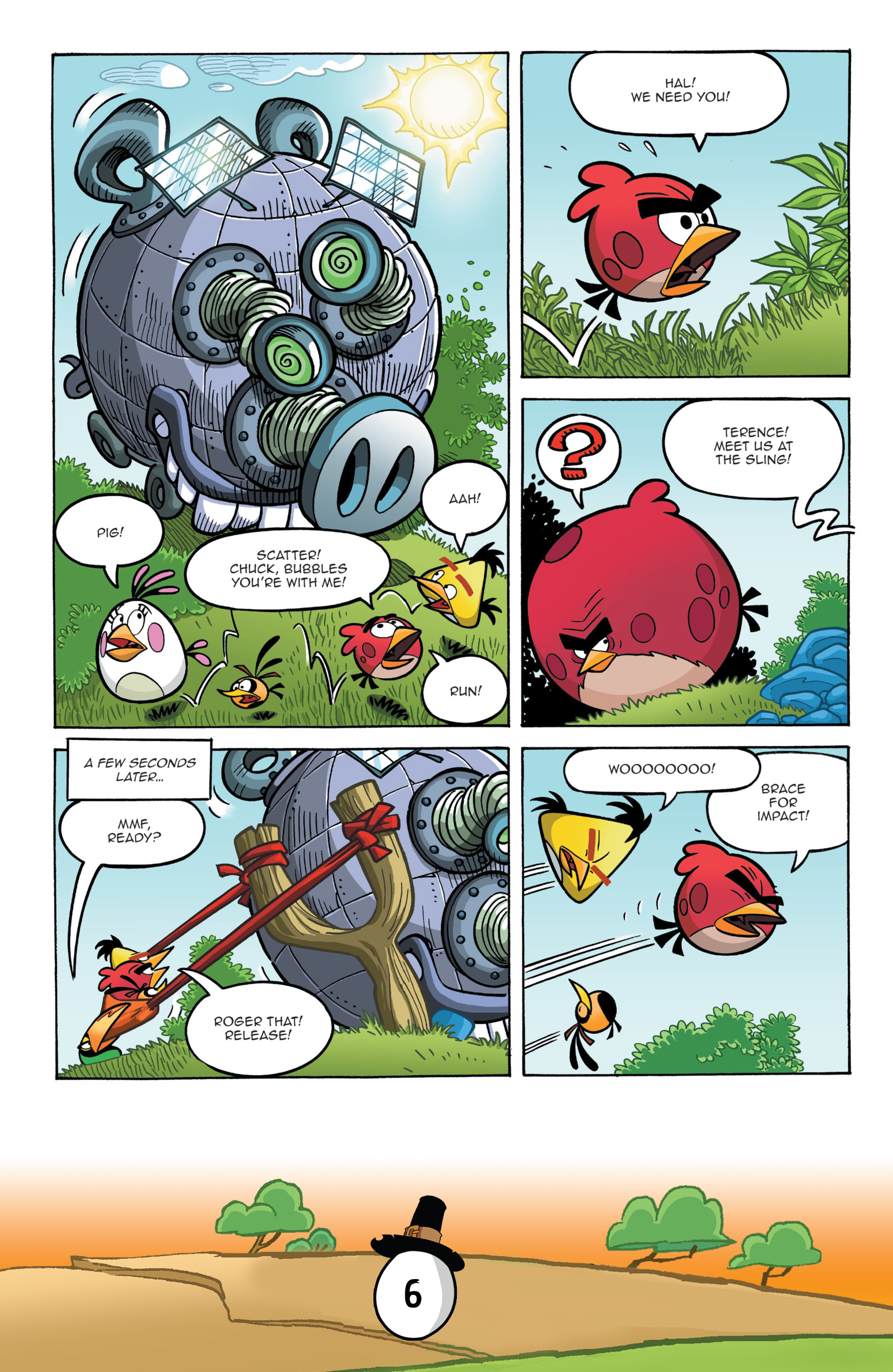 Read online Angry Birds Comics (2016) comic -  Issue #11 - 8