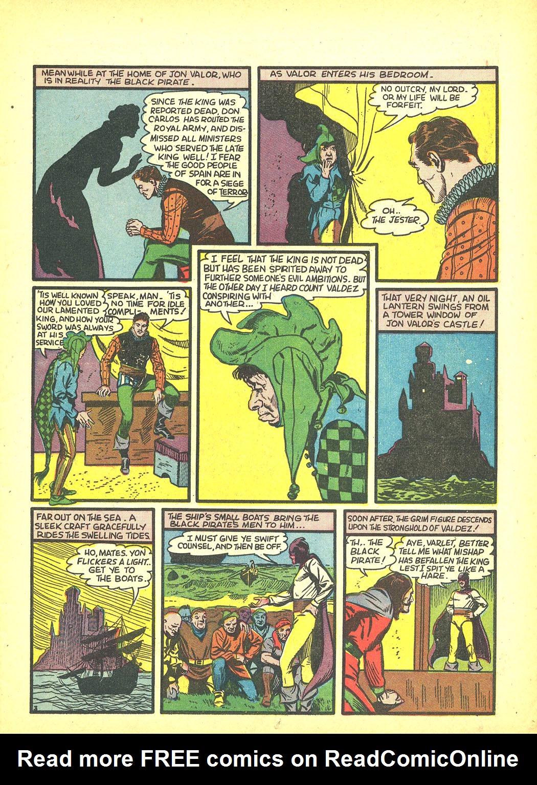 Read online Sensation (Mystery) Comics comic -  Issue #4 - 19