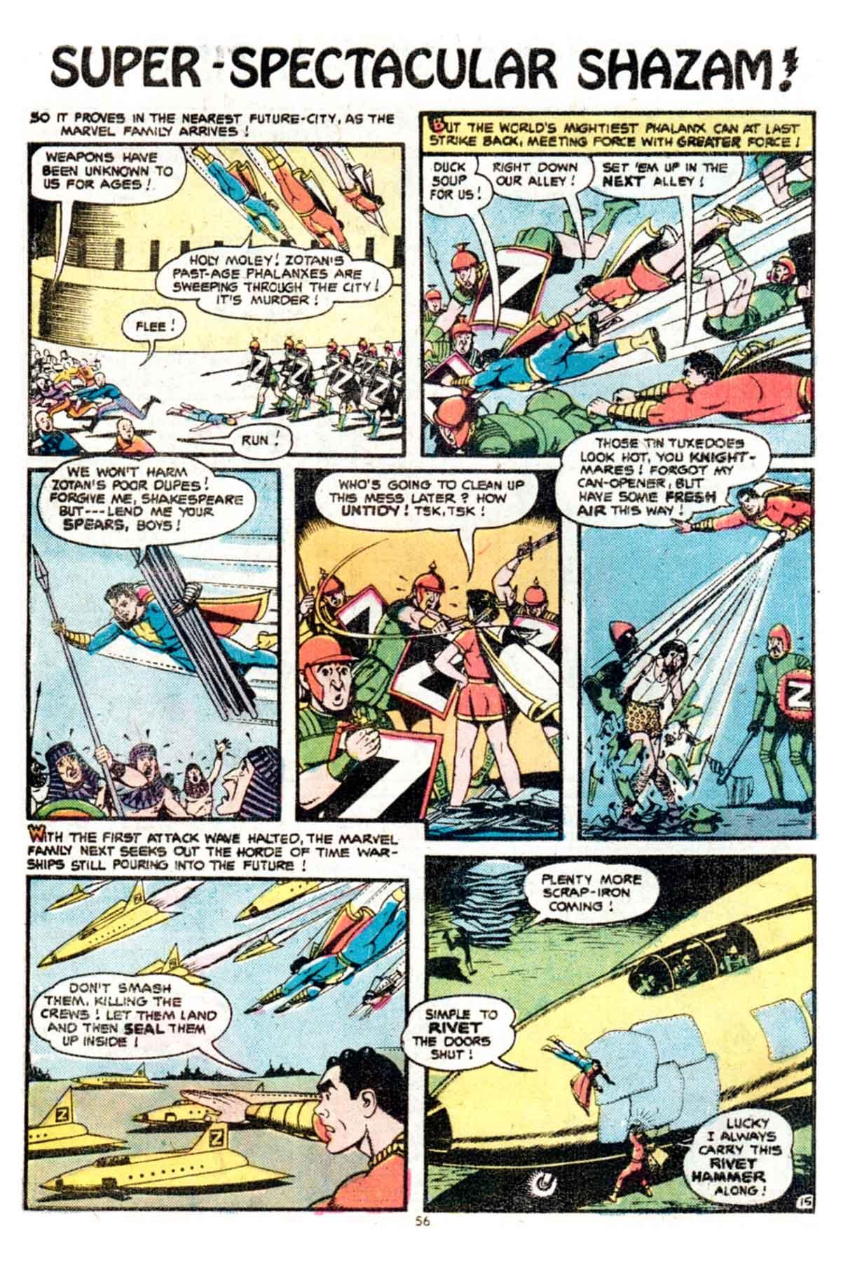 Read online Shazam! (1973) comic -  Issue #15 - 56