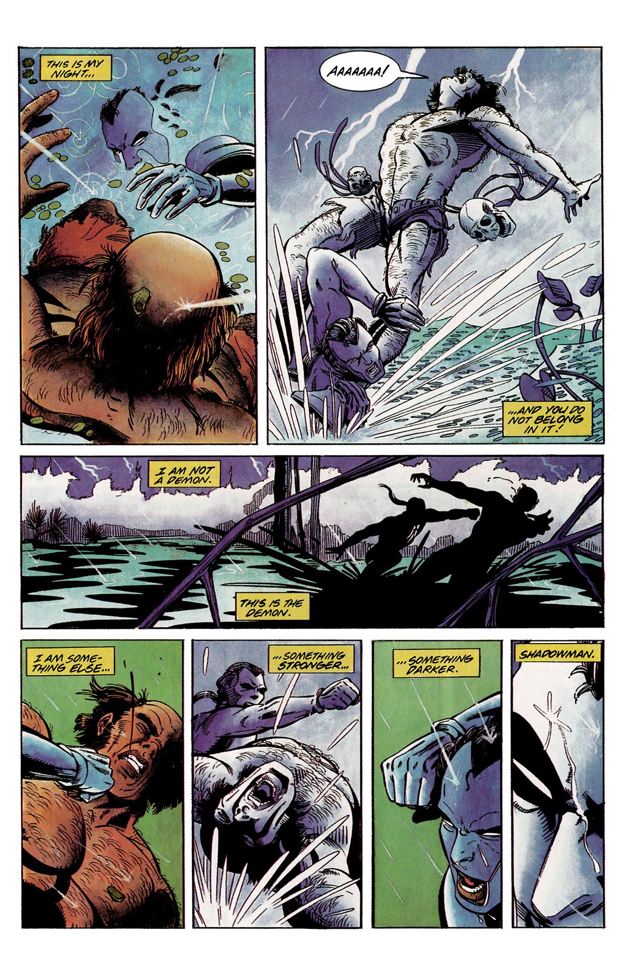 Read online Shadowman (1992) comic -  Issue #2 - 22